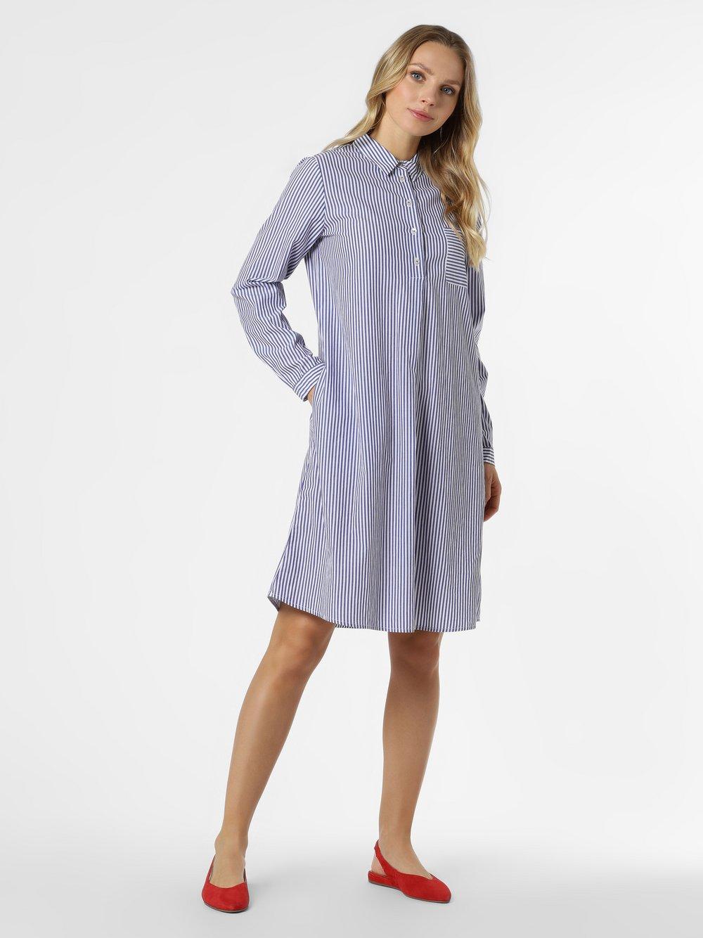 Emily van den Bergh - Sukienka damska, niebieski