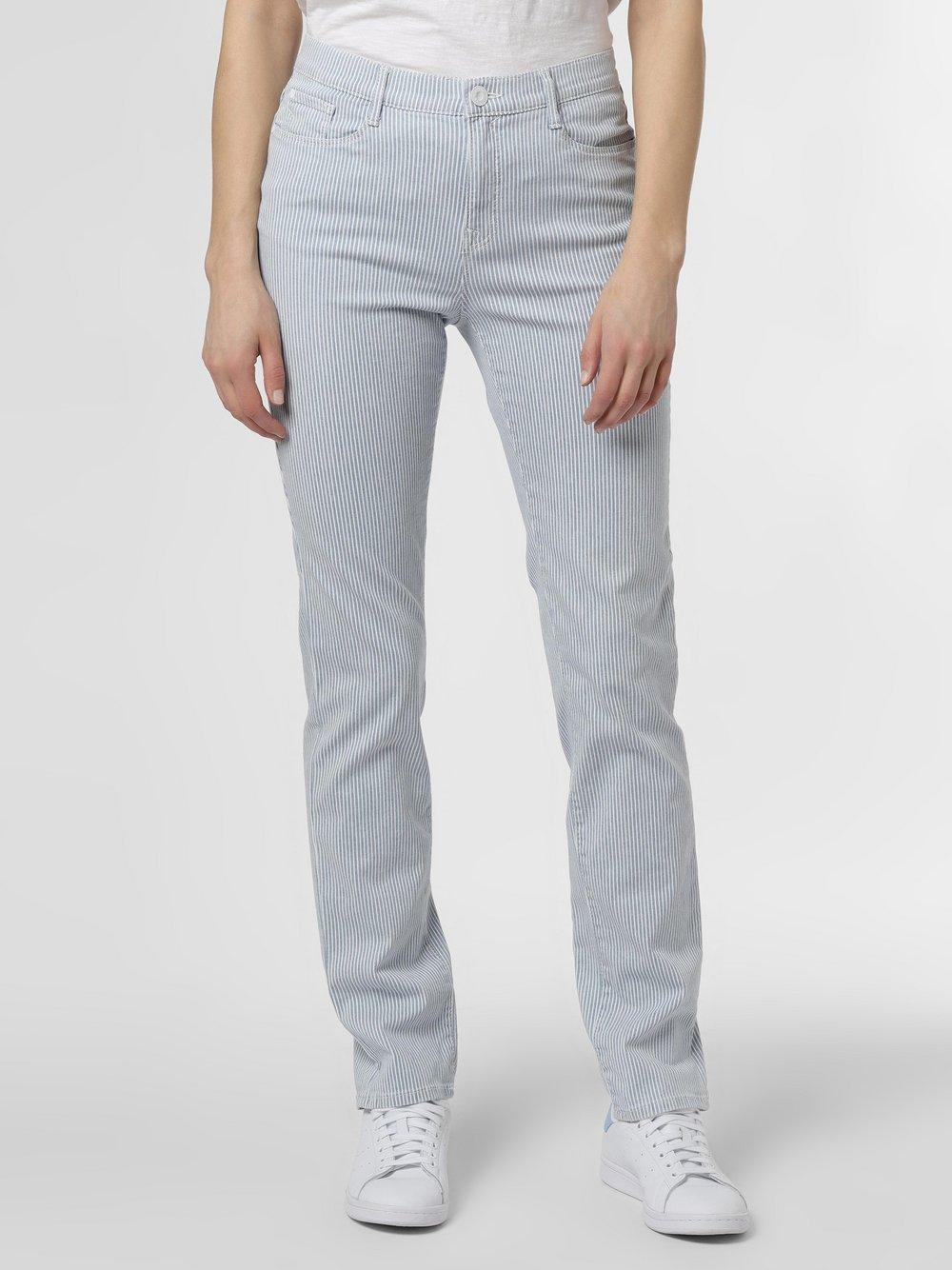 BRAX - Spodnie damskie – Mary, niebieski