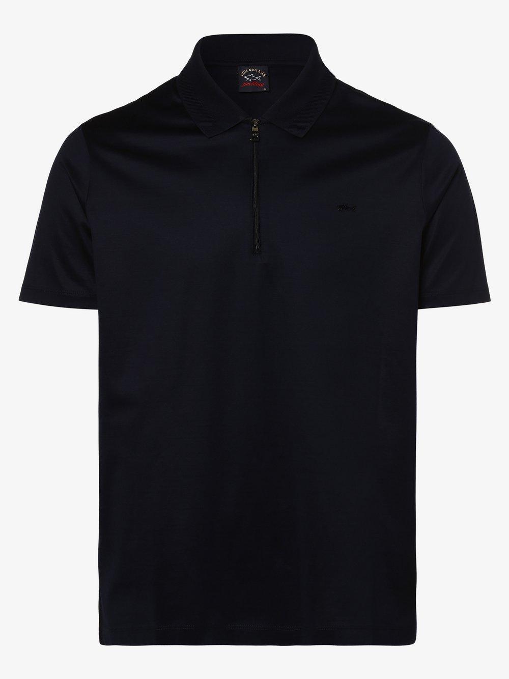 Paul & Shark - Męska koszulka polo, niebieski