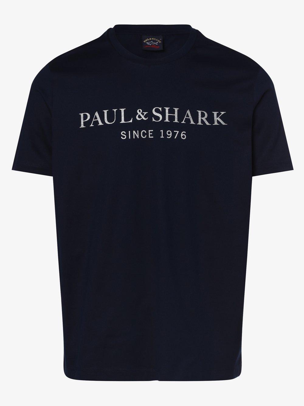 Paul & Shark - T-shirt męski, niebieski