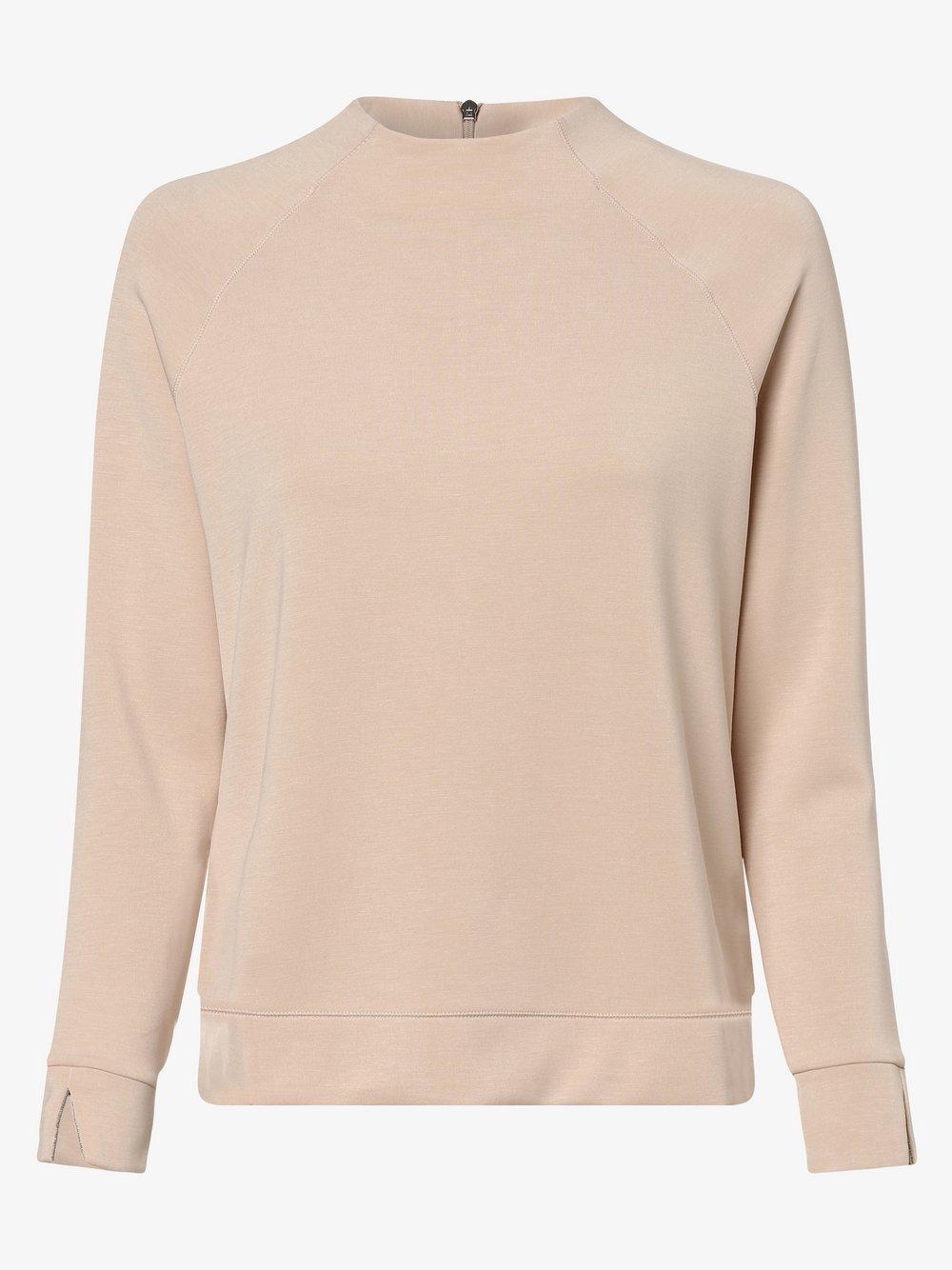 s.Oliver BLACK LABEL - Damska bluza nierozpinana, beżowy