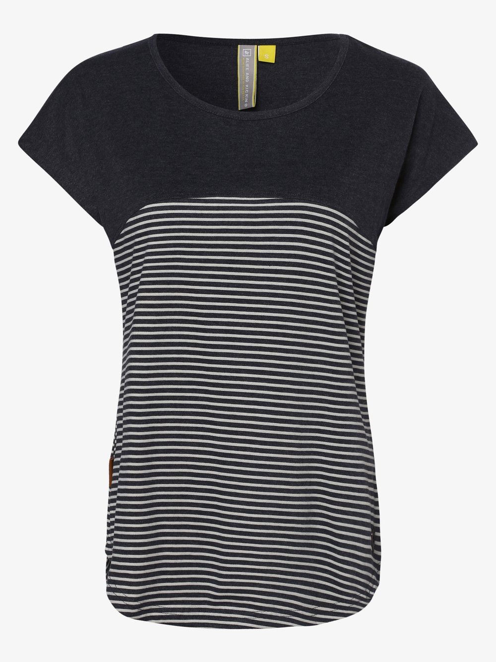 alife and kickin - T-shirt damski – ClaireAK, niebieski