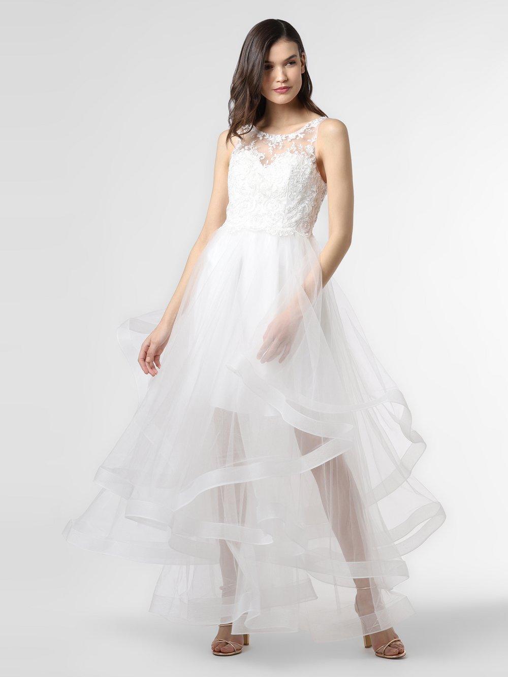 Laona - Damska sukienka wieczorowa, biały