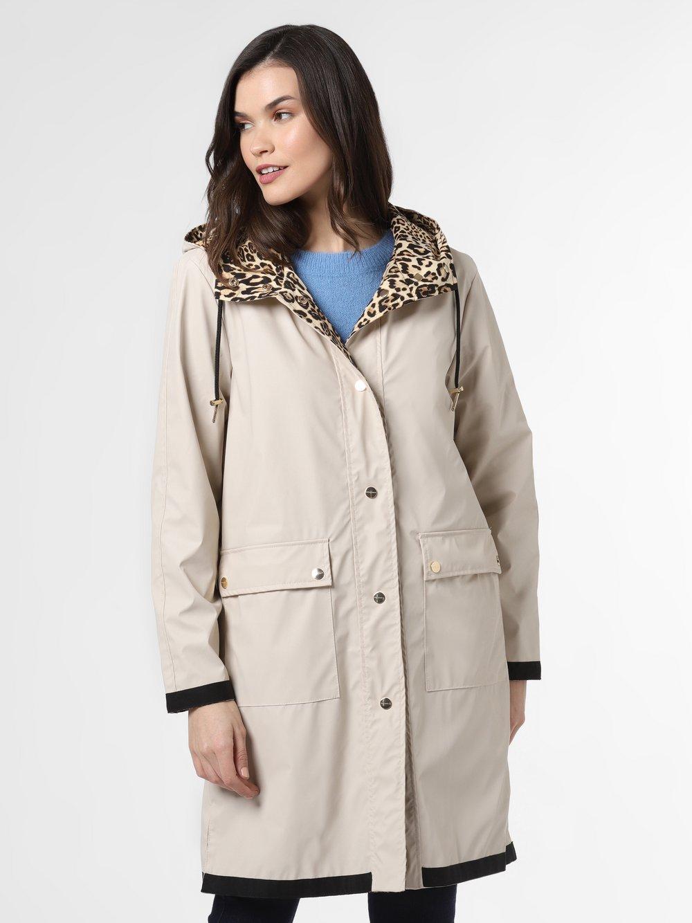 Rino & Pelle - Damski płaszcz dwustronny – Caramba, beżowy