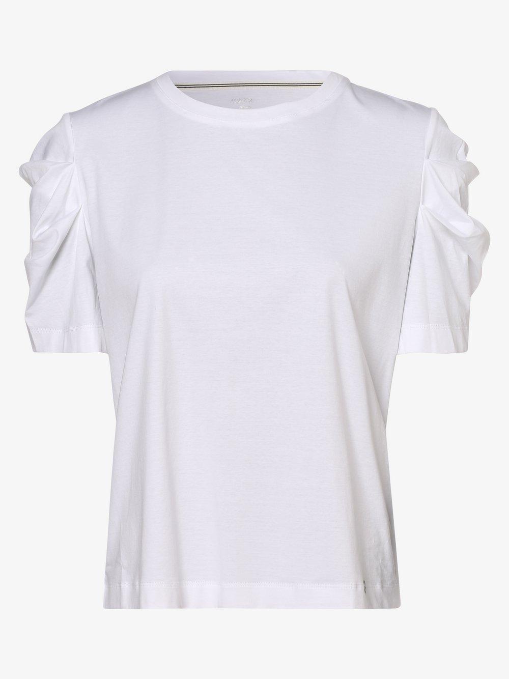 Marc Cain Collections - T-shirt damski, biały