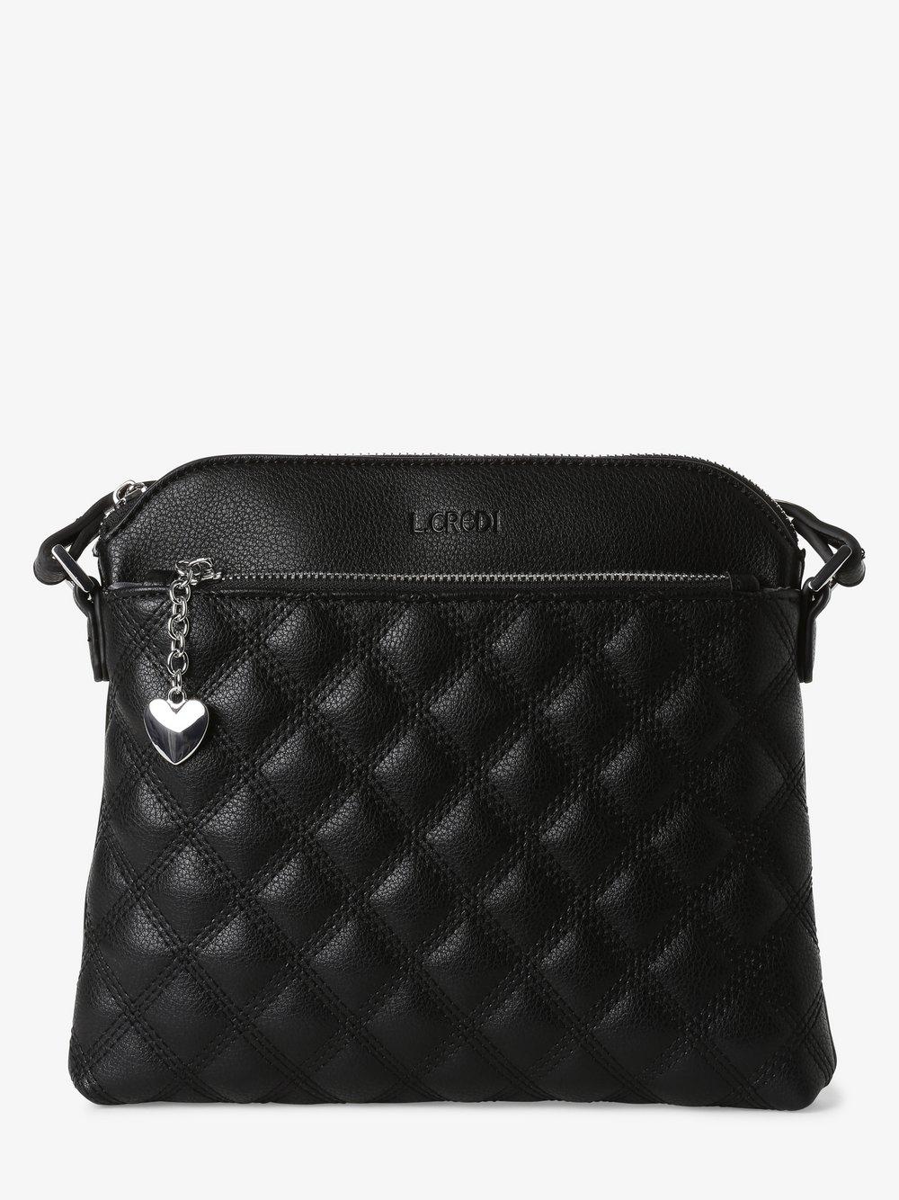 L.Credi - Damska torebka na ramię – Giulietta, czarny