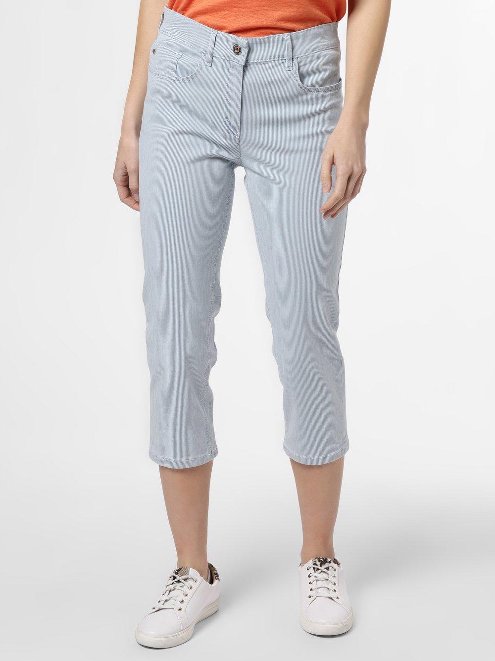 Zerres - Spodnie damskie – Cora, niebieski