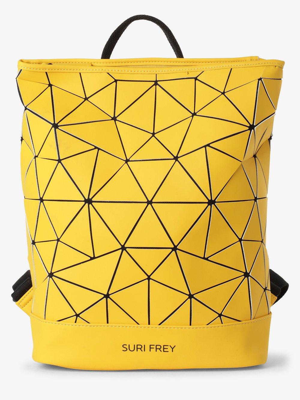 Suri Frey - Plecak damski – Jessy-Lu, żółty