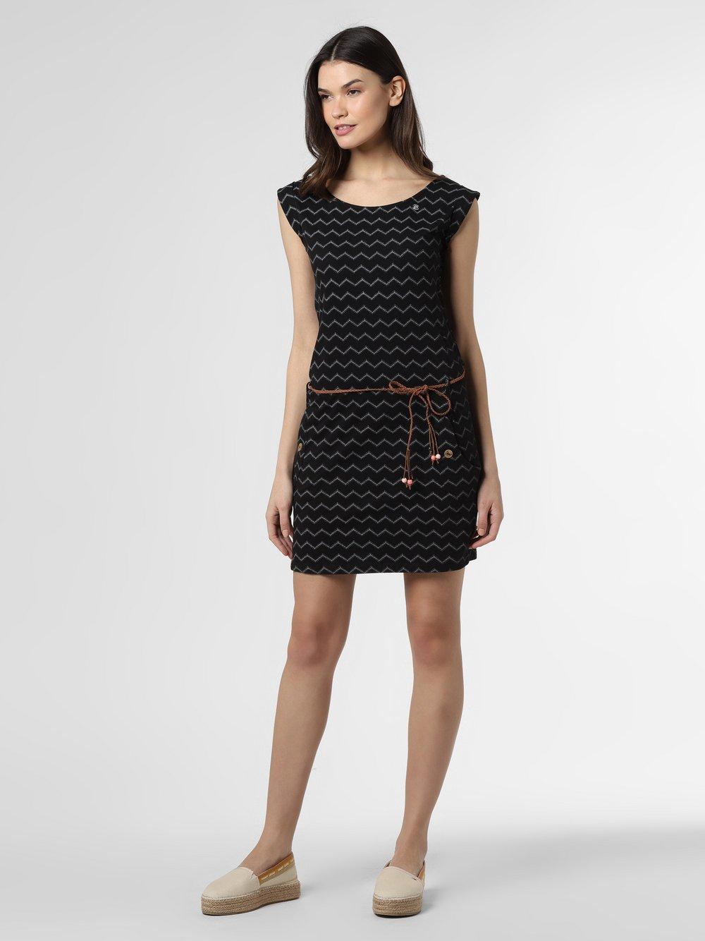 Ragwear - Sukienka damska – Tag Chevron, czarny