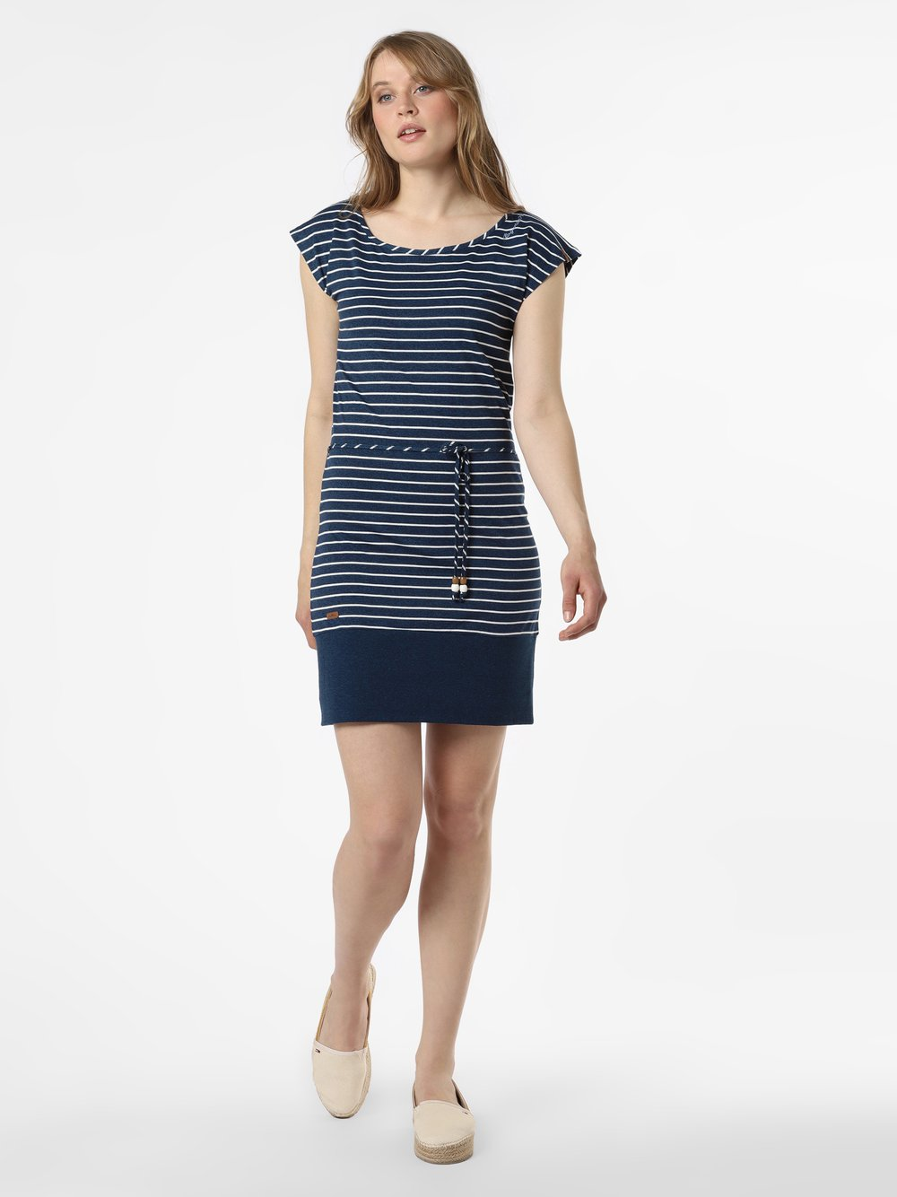 Ragwear - Sukienka damska – Soho Stripes, niebieski