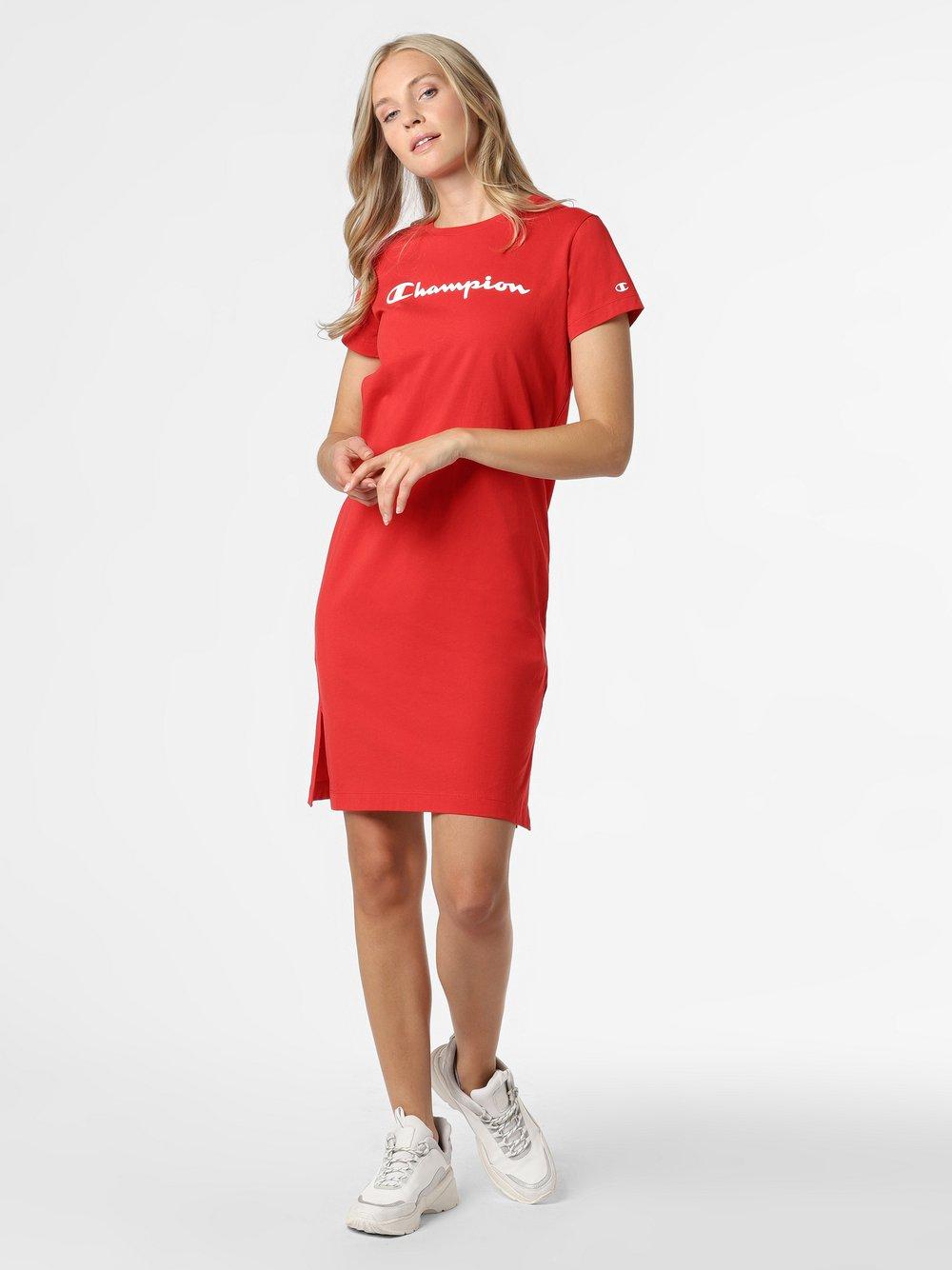 Champion - Sukienka damska, czerwony