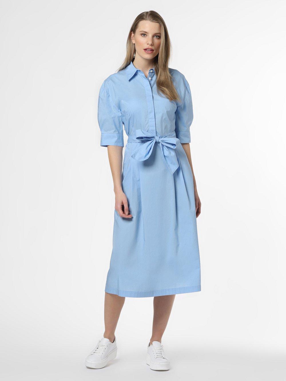 Marc O'Polo - Sukienka damska, niebieski