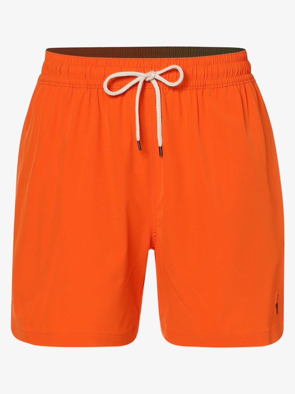 Polo Ralph Lauren - Męskie spodenki kąpielowe, pomarańczowy