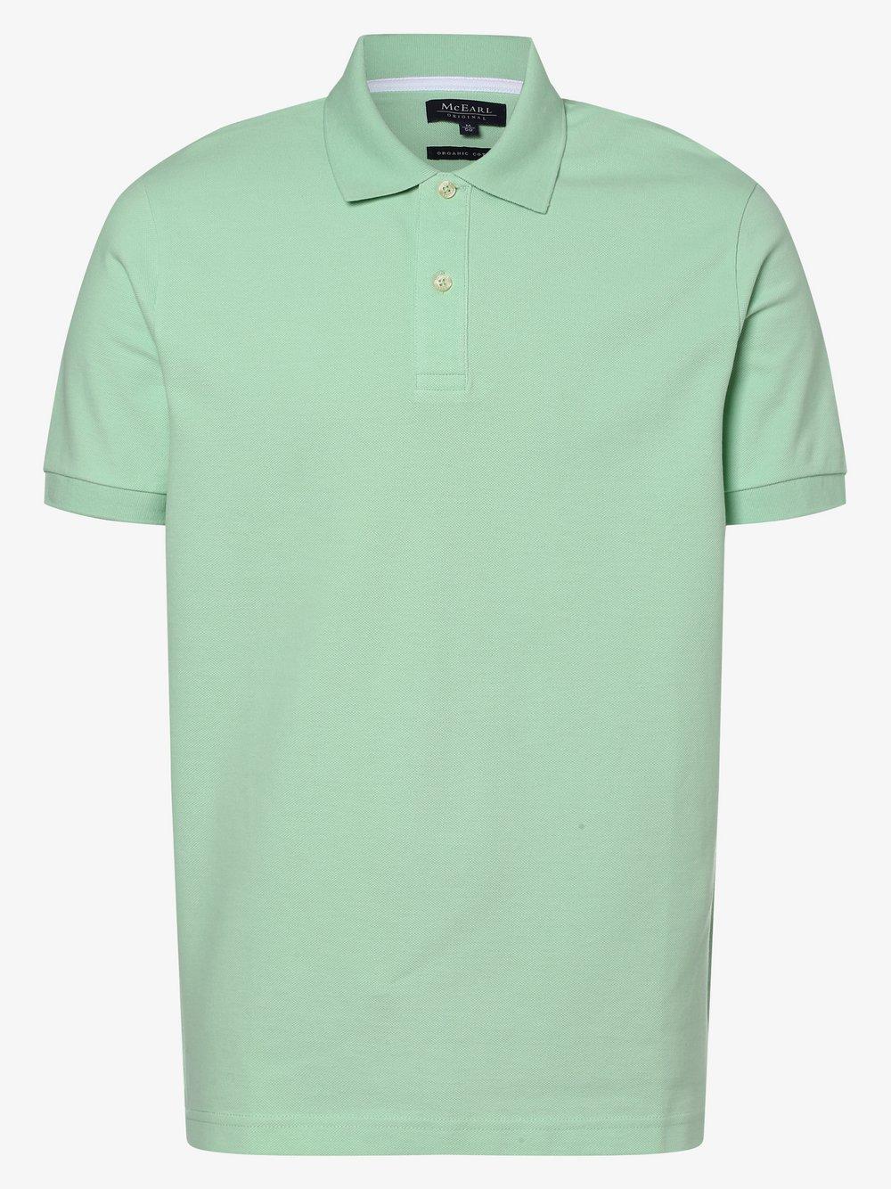Mc Earl - Męska koszulka polo, zielony