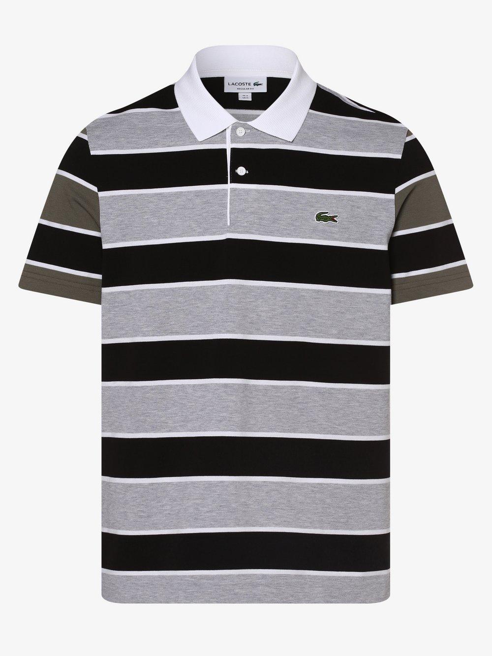 Lacoste - Męska koszulka polo, szary