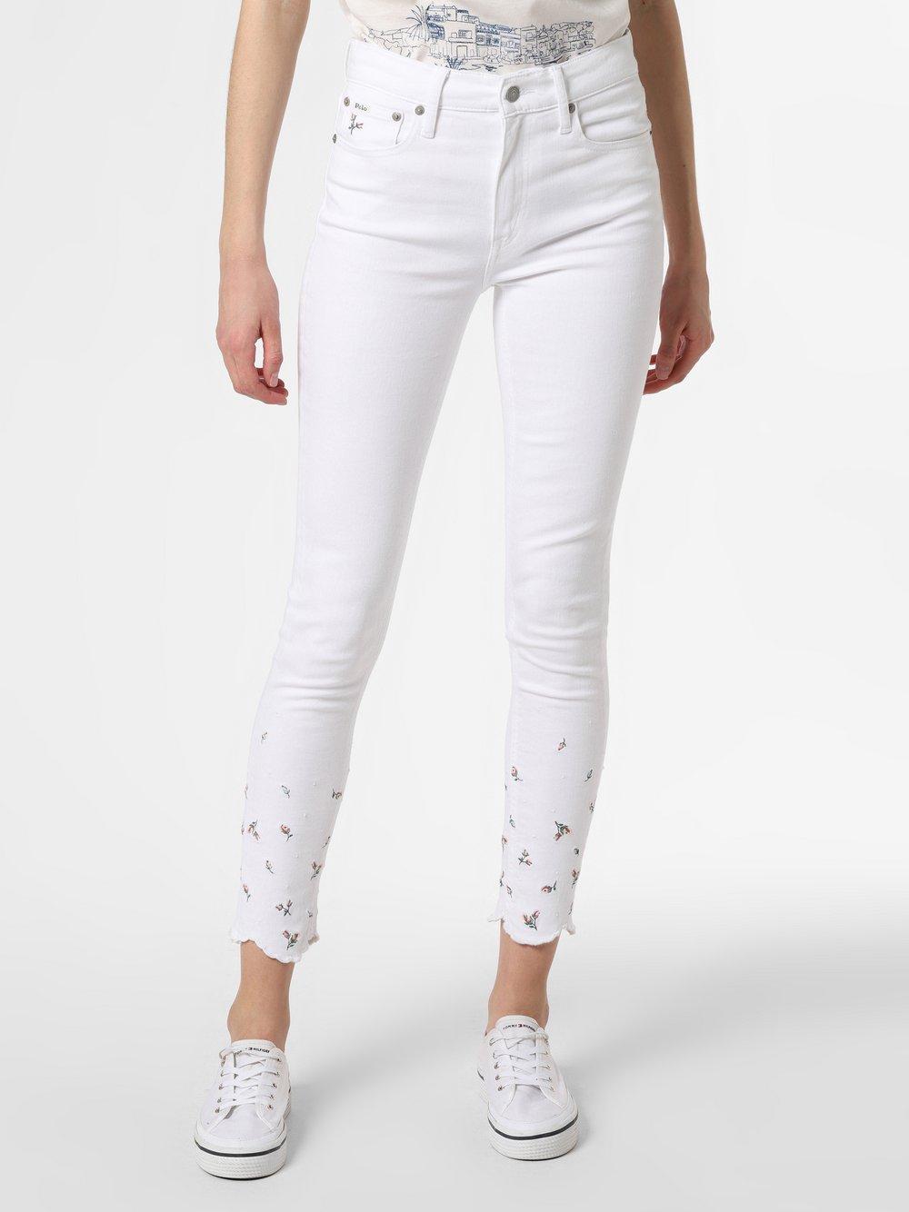 Polo Ralph Lauren - Jeansy damskie, biały