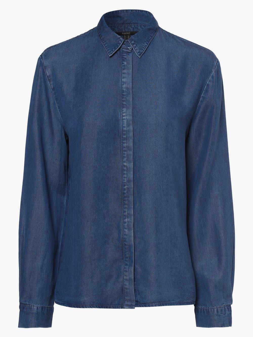 Esprit Collection - Bluzka damska, niebieski