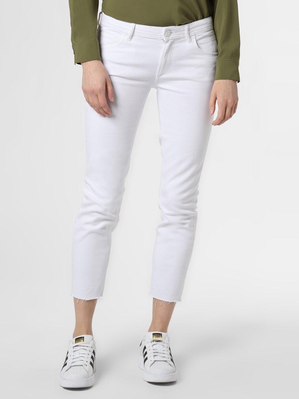 Marc O'Polo Denim - Spodnie damskie – Alva, biały