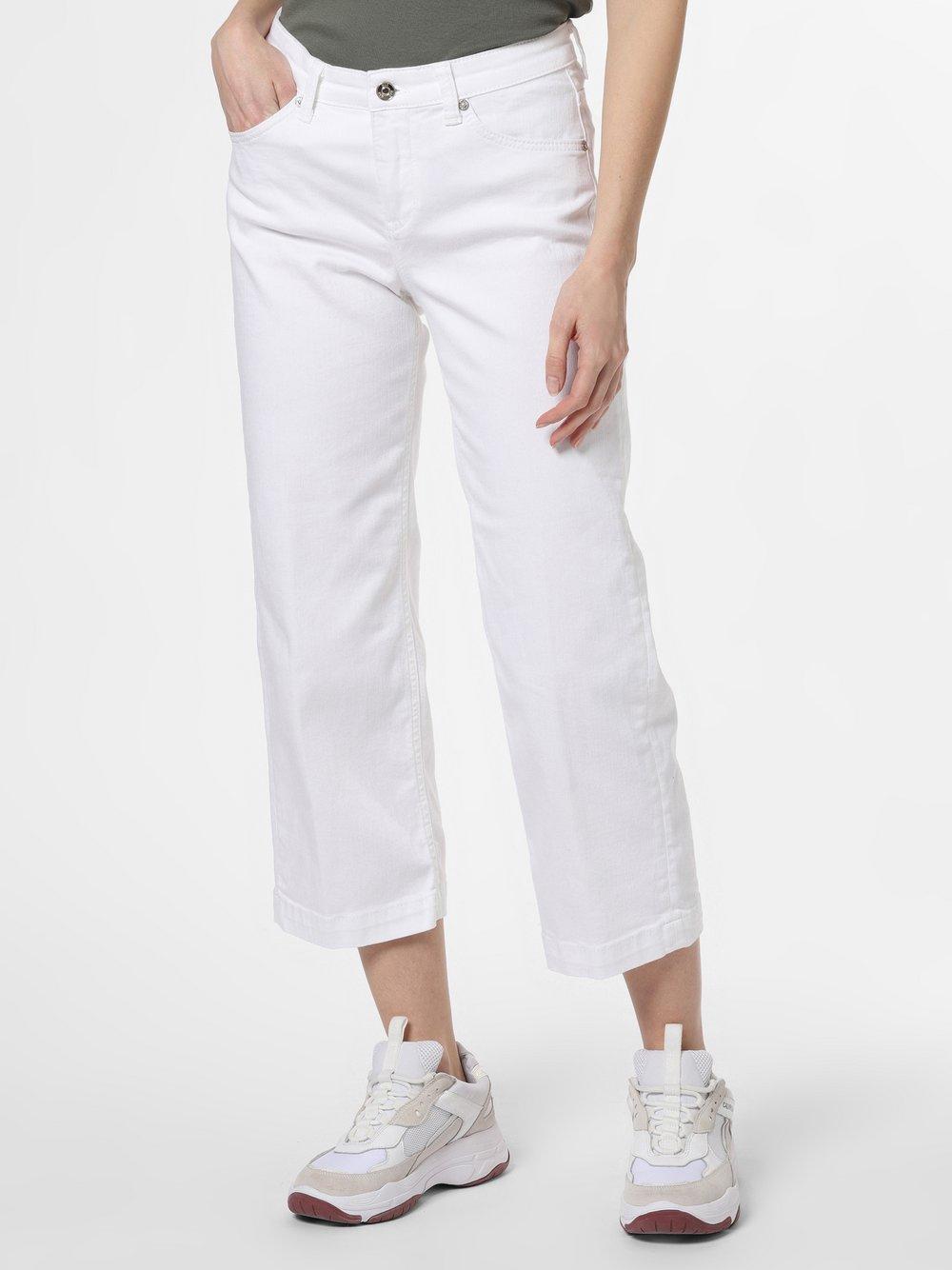 MAC - Spodnie damskie – Rich, biały