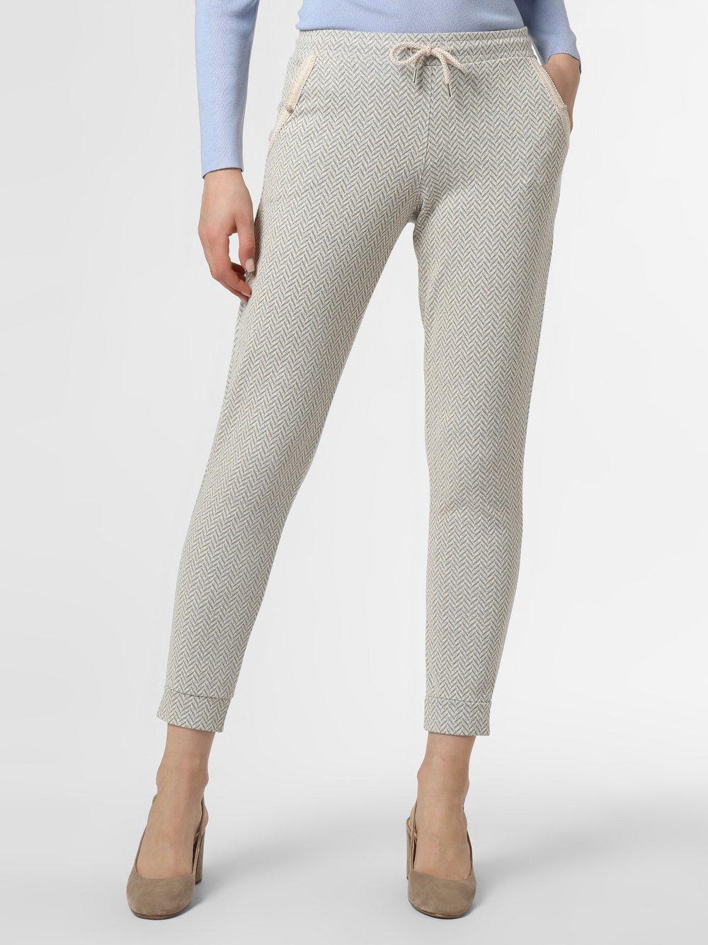 Rich & Royal - Damskie spodnie dresowe, beżowy