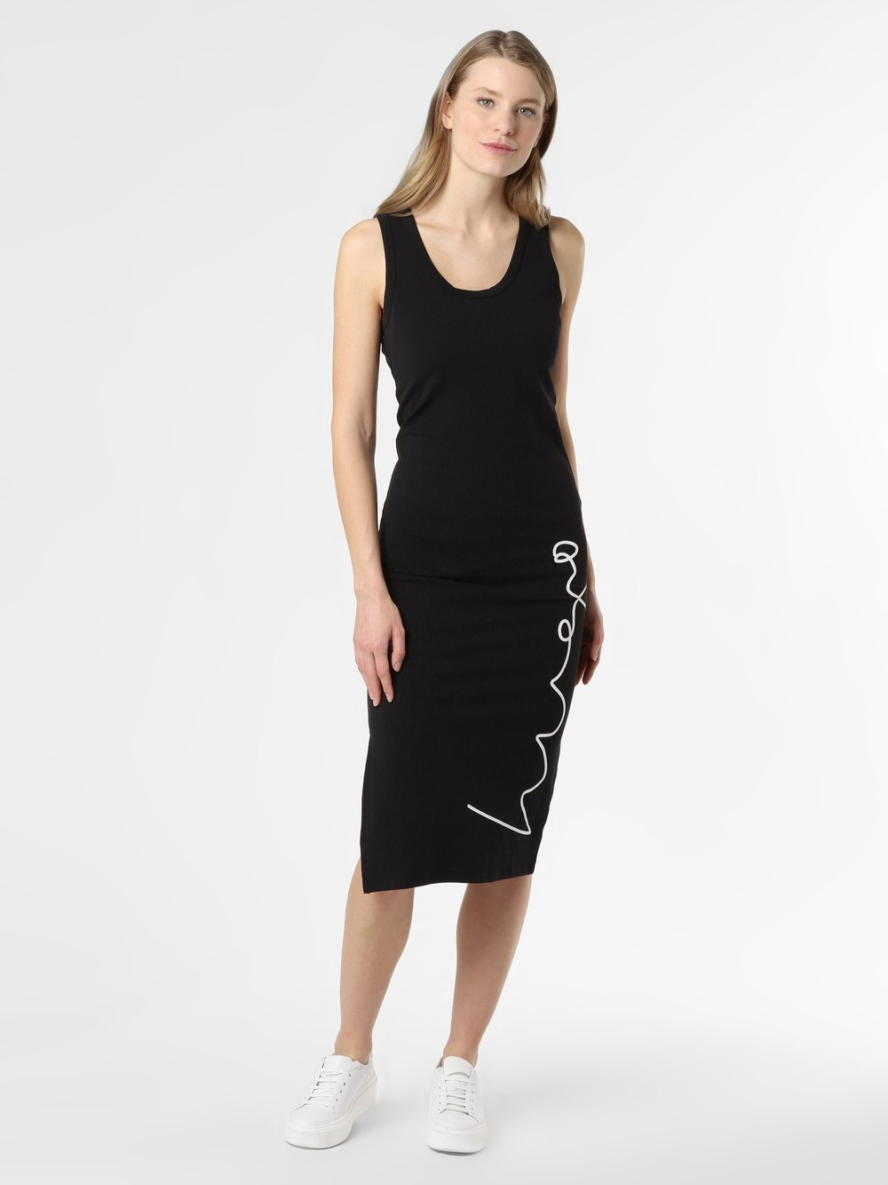 HUGO - Sukienka damska – Namadra, czarny