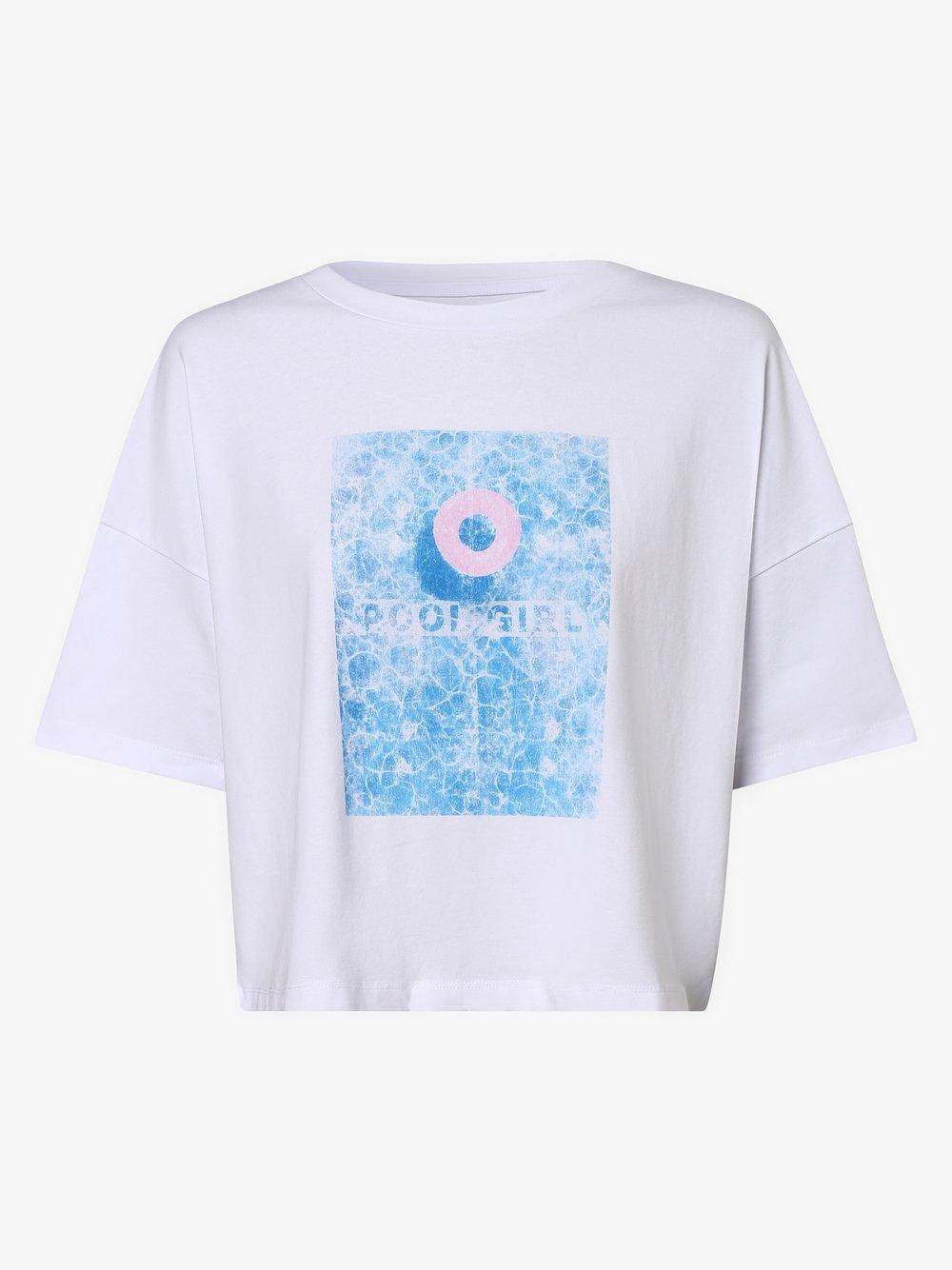 Noisy May - Damski T-shirt – Amy, biały
