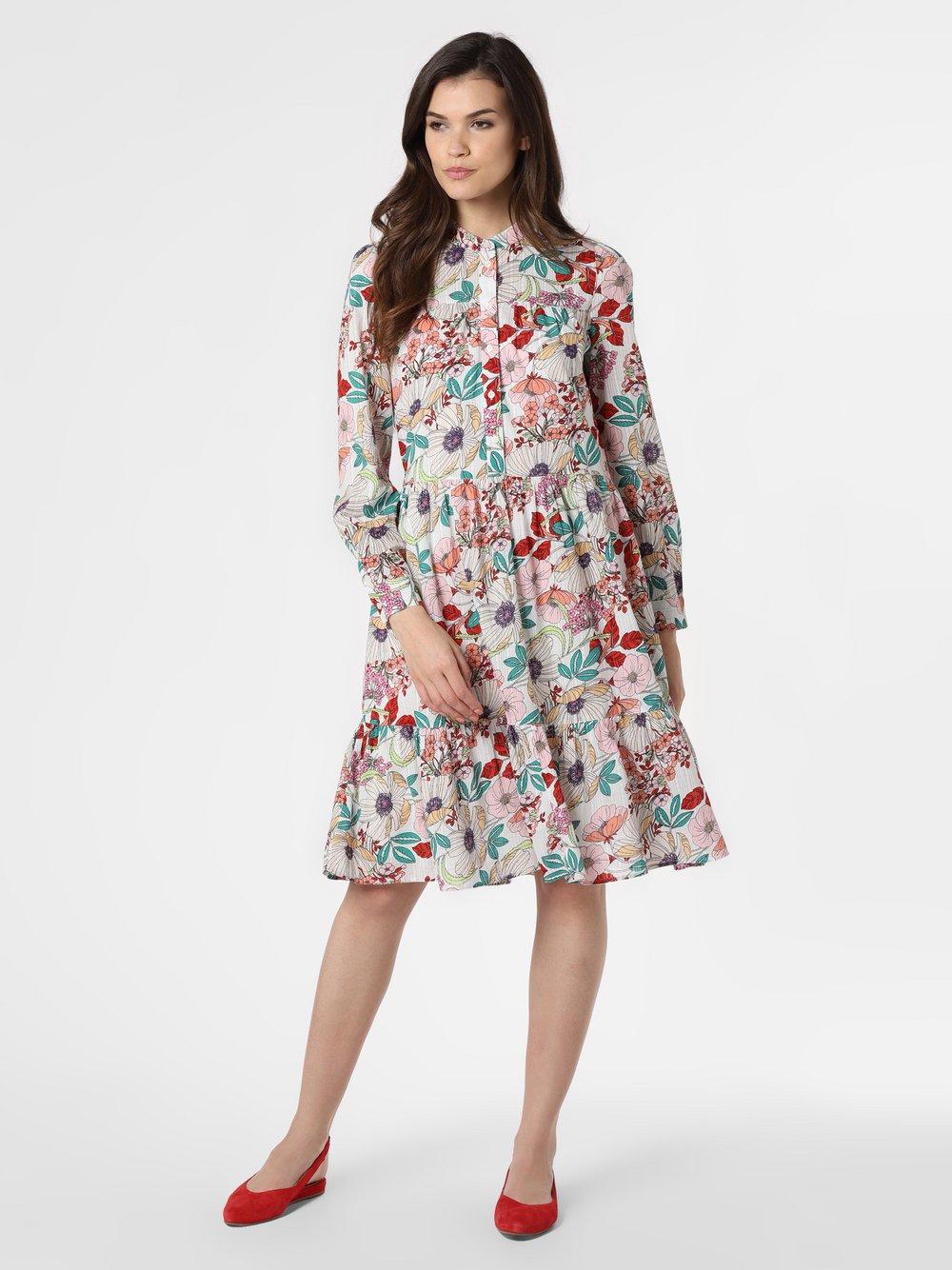 Esprit Casual - Sukienka damska, beżowy