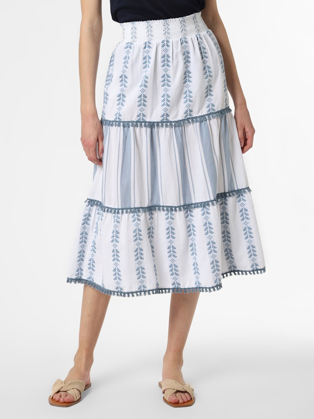 Rich & Royal - Spódnica damska, biały