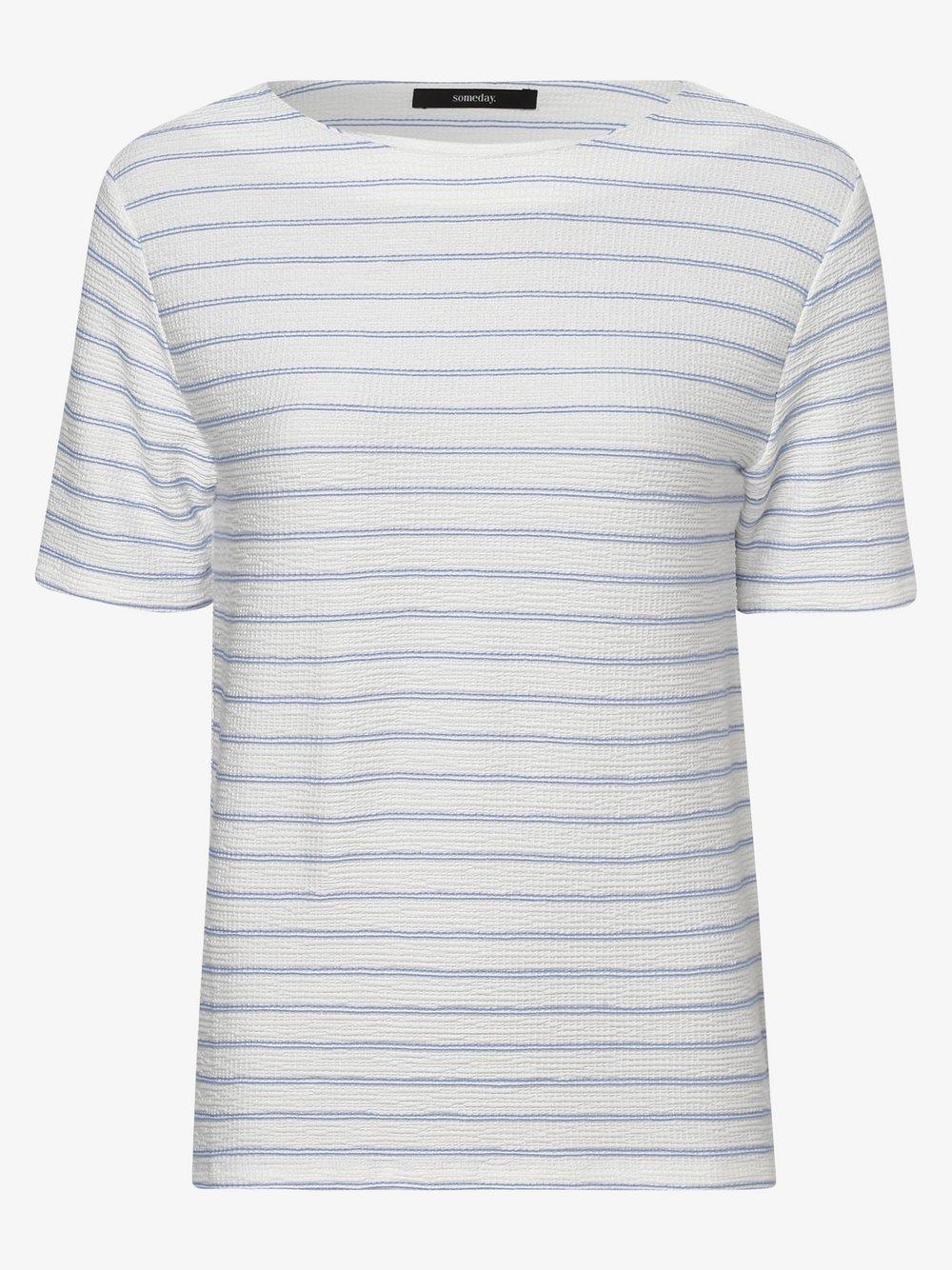 Someday - T-shirt damski, niebieski