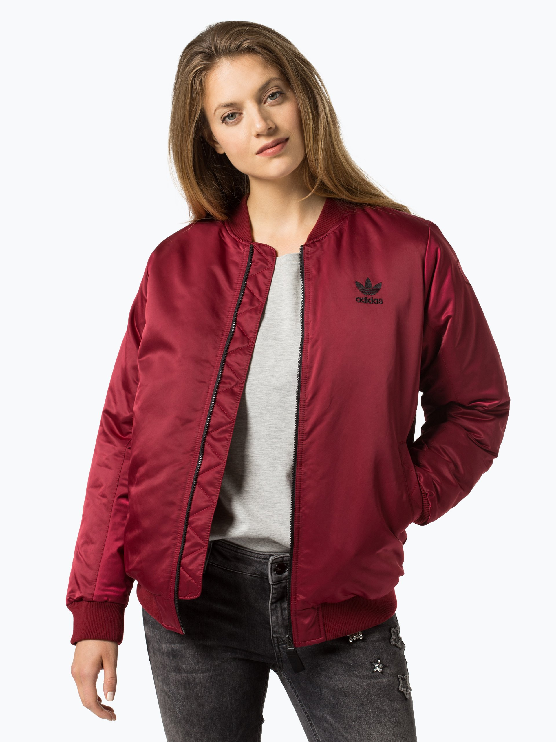 adidas originals damen jacke bordeaux uni online kaufen vangraaf com. Black Bedroom Furniture Sets. Home Design Ideas