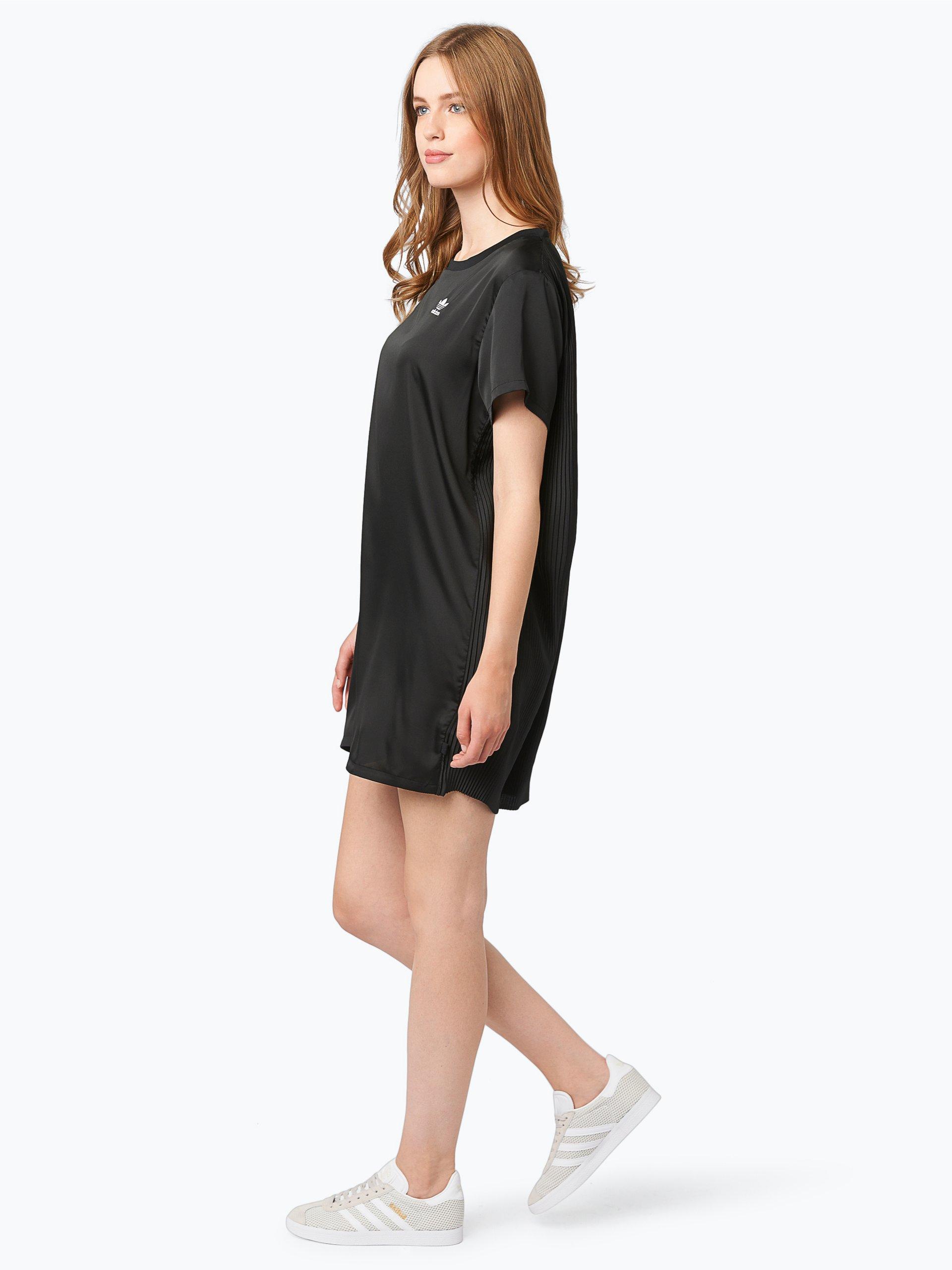 adidas originals damen kleid schwarz uni online kaufen. Black Bedroom Furniture Sets. Home Design Ideas