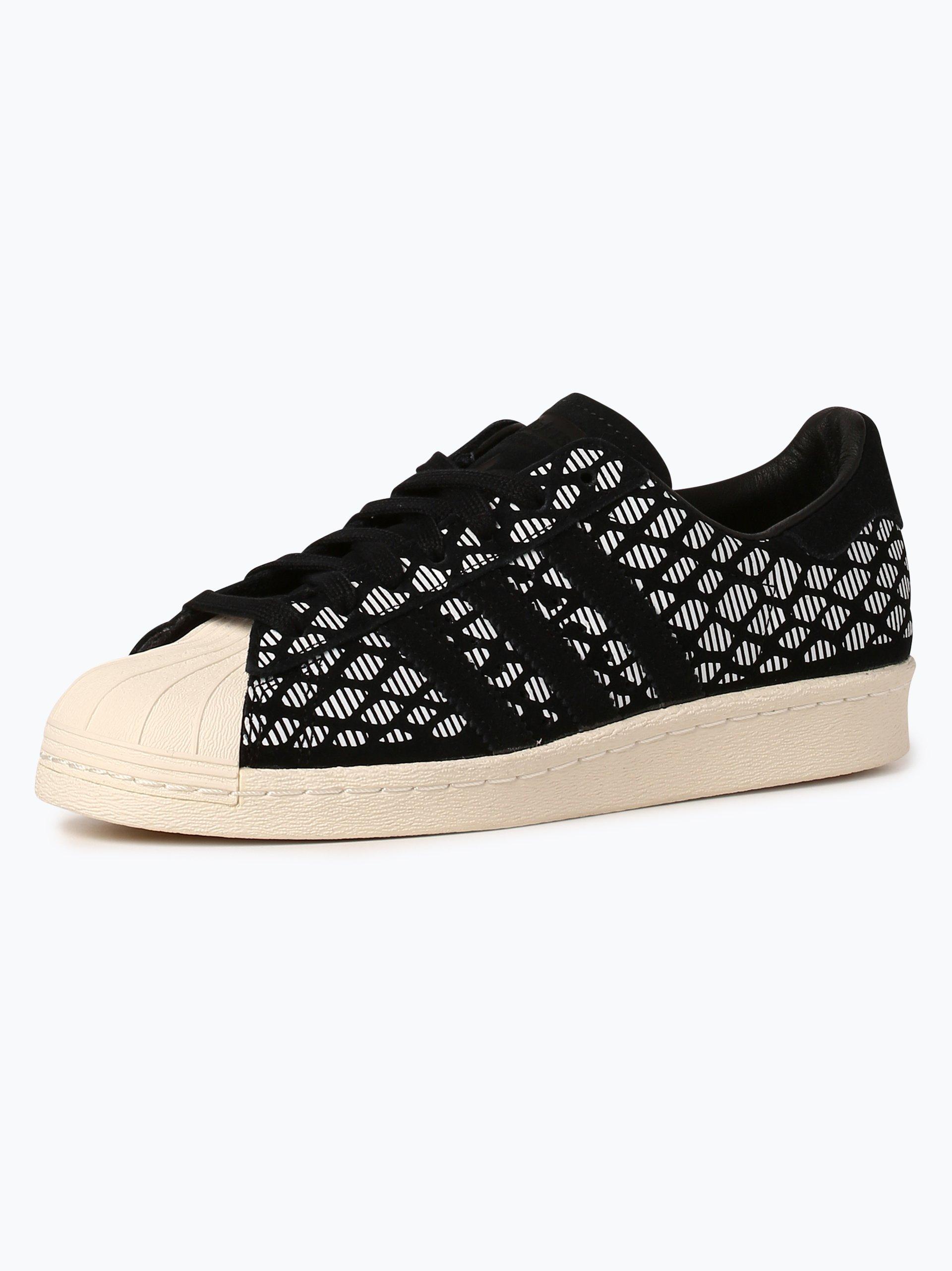 adidas Originals Damen Sneaker mit Leder-Anteil - Superstar 80s