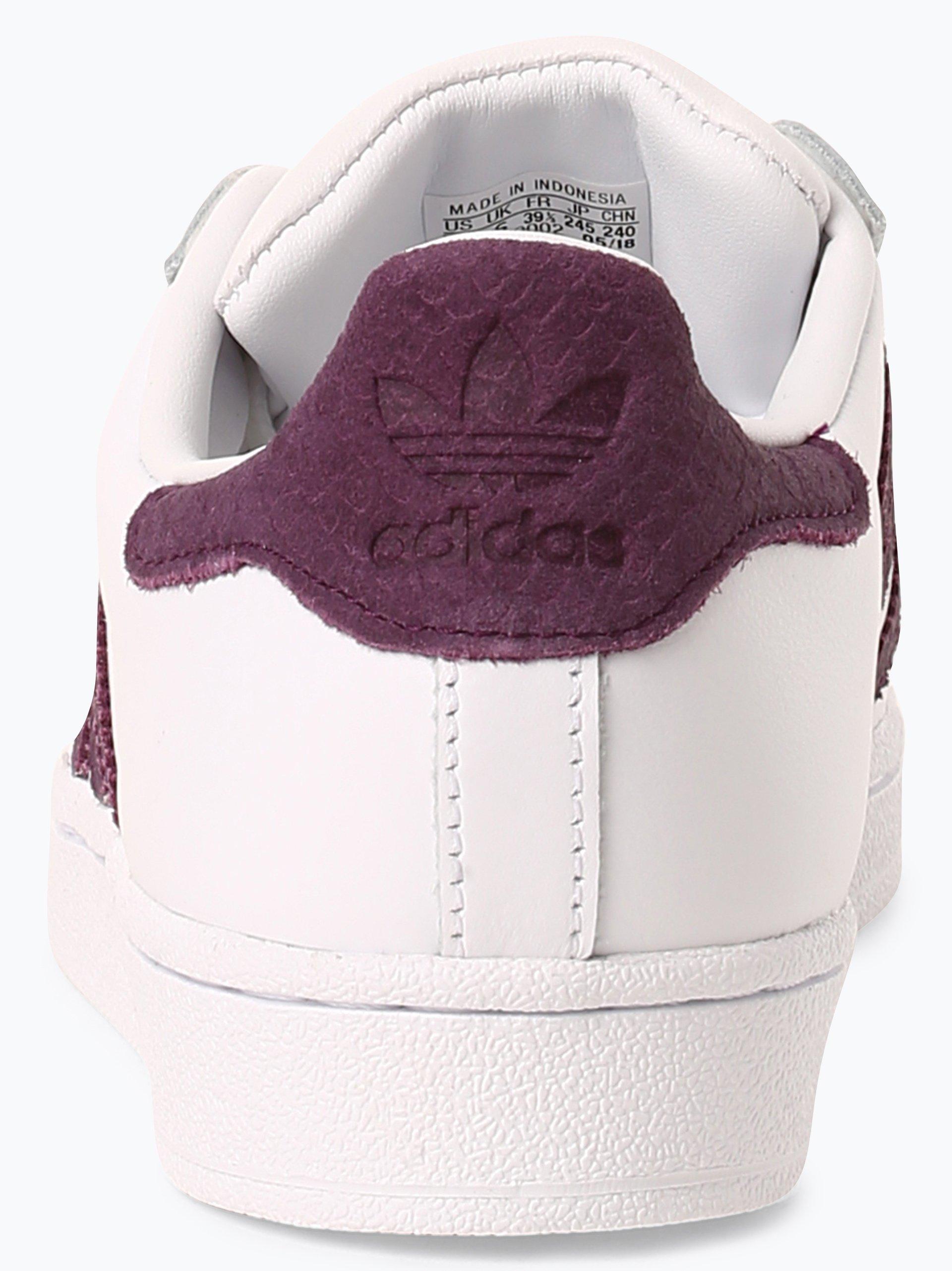 adidas Originals Damen Sneaker mit Leder-Anteil - Superstar W