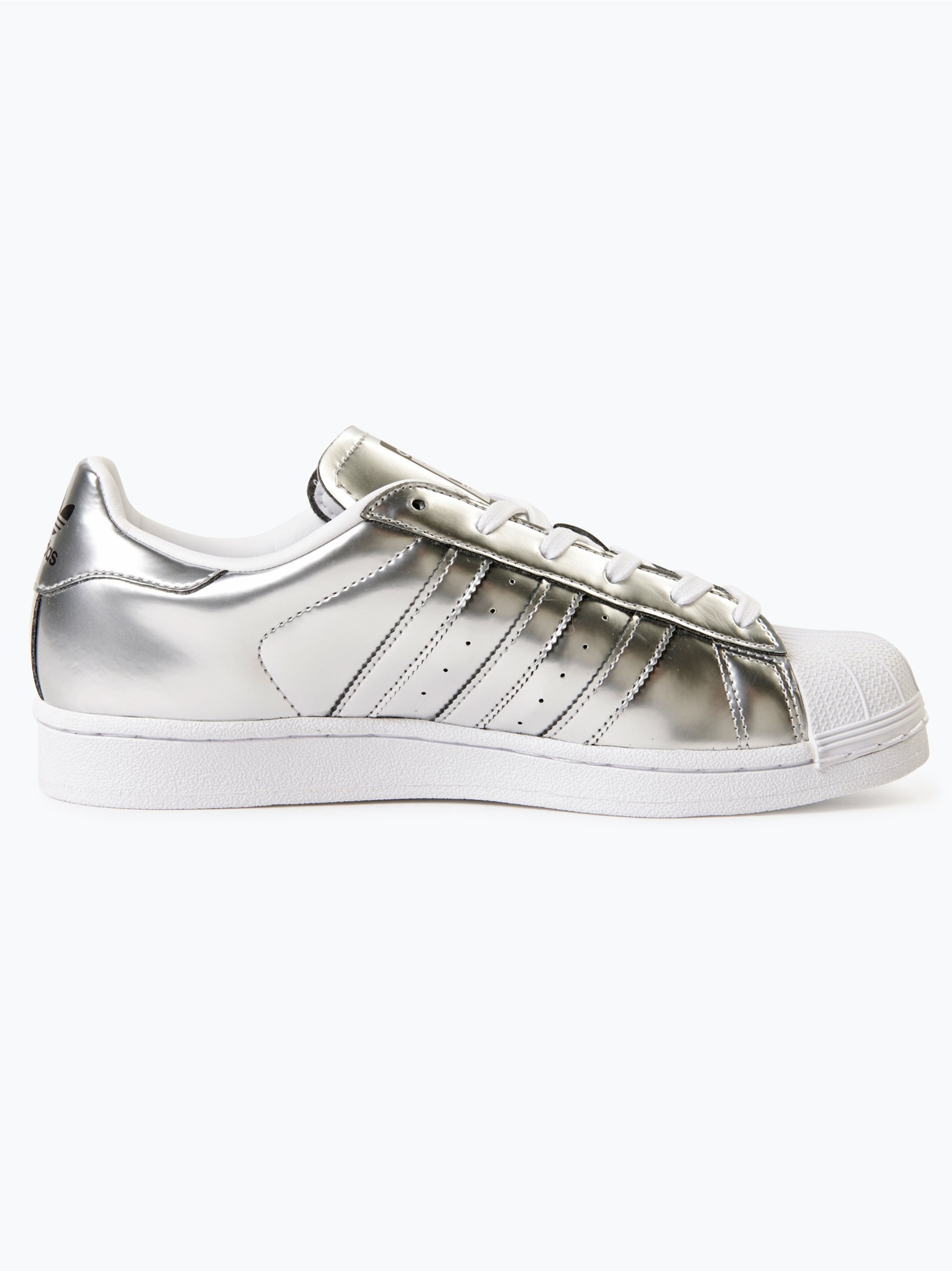 adidas originals damen sneaker superstar w silber uni. Black Bedroom Furniture Sets. Home Design Ideas