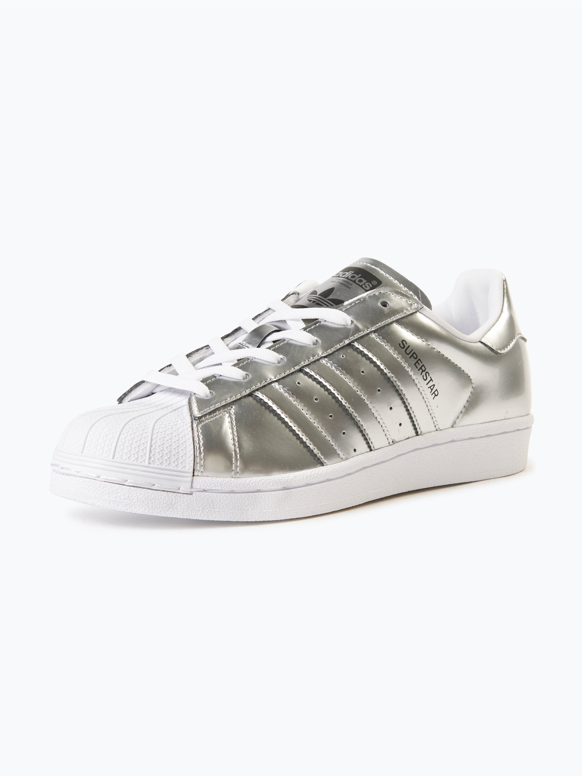 adidas originals damen sneaker superstar w silber uni. Black Bedroom Furniture Sets. Home Design Ideas
