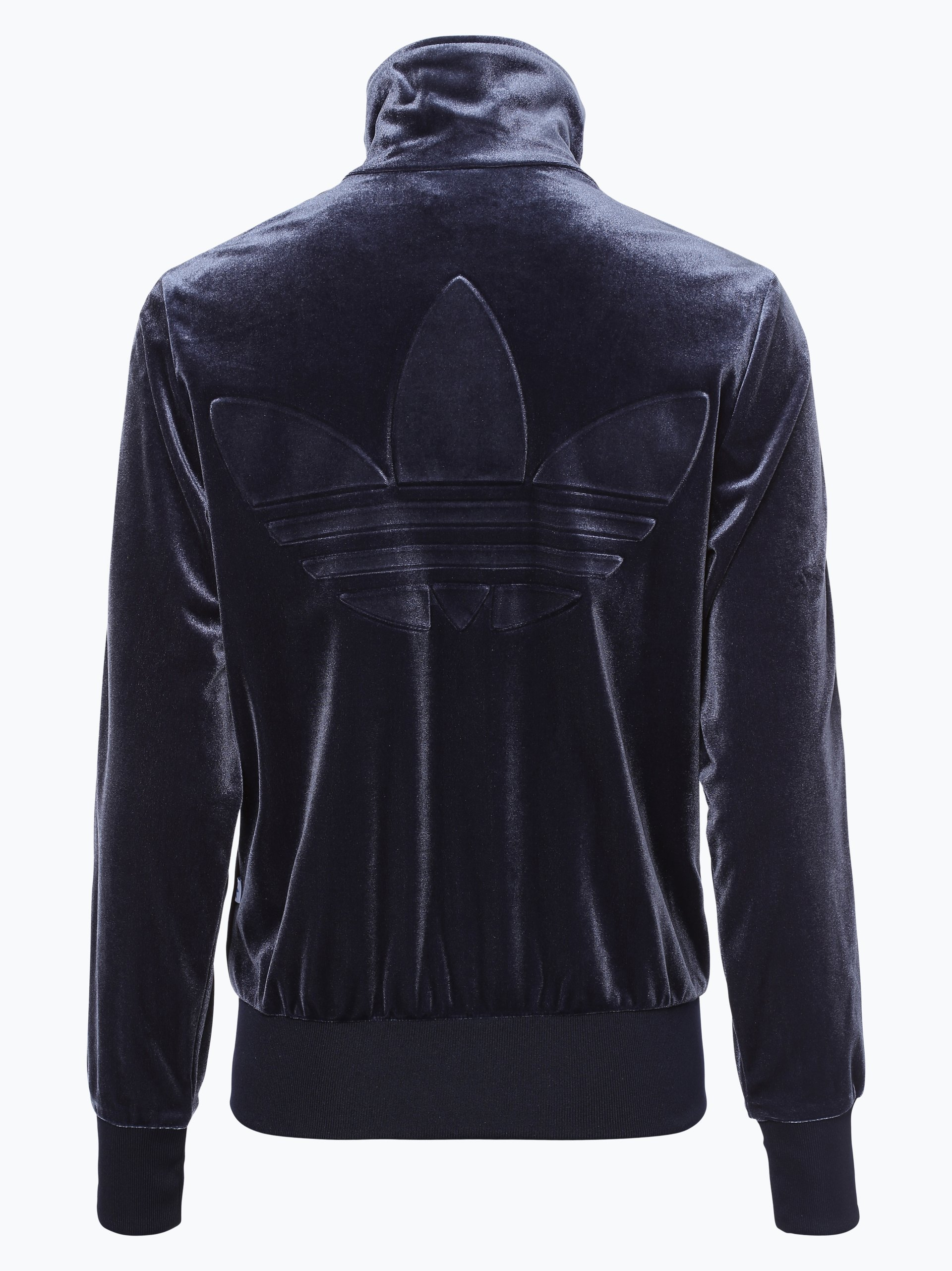 adidas originals damen sweatjacke marine uni online kaufen vangraaf com. Black Bedroom Furniture Sets. Home Design Ideas