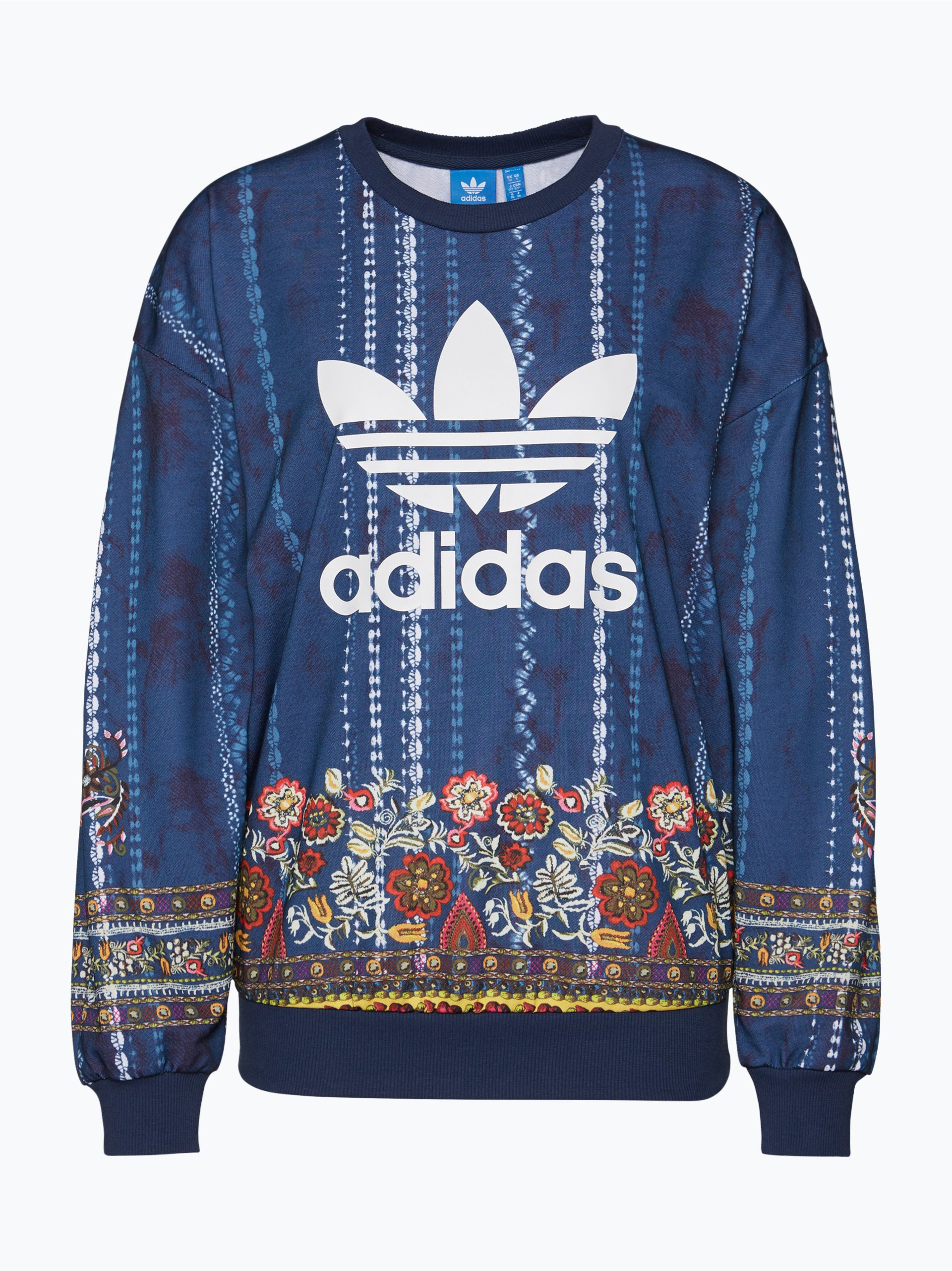 adidas originals damen sweatshirt cirandeira blau. Black Bedroom Furniture Sets. Home Design Ideas