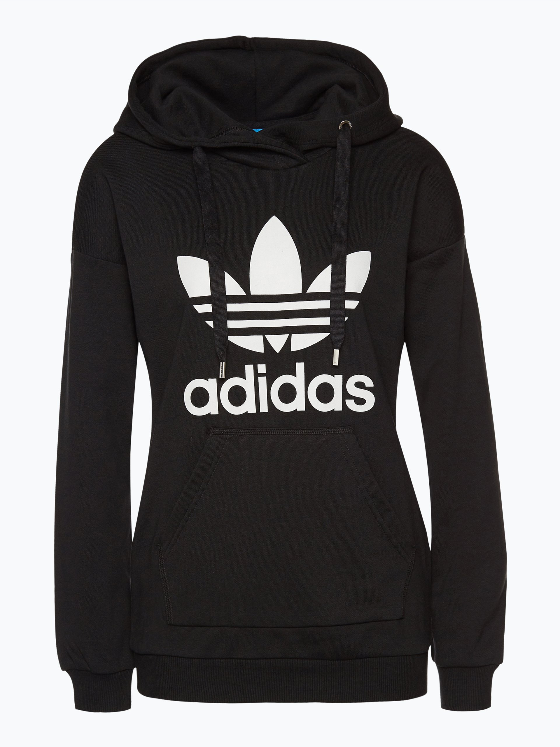 adidas originals damen sweatshirt schwarz uni online kaufen peek und cloppenburg de. Black Bedroom Furniture Sets. Home Design Ideas