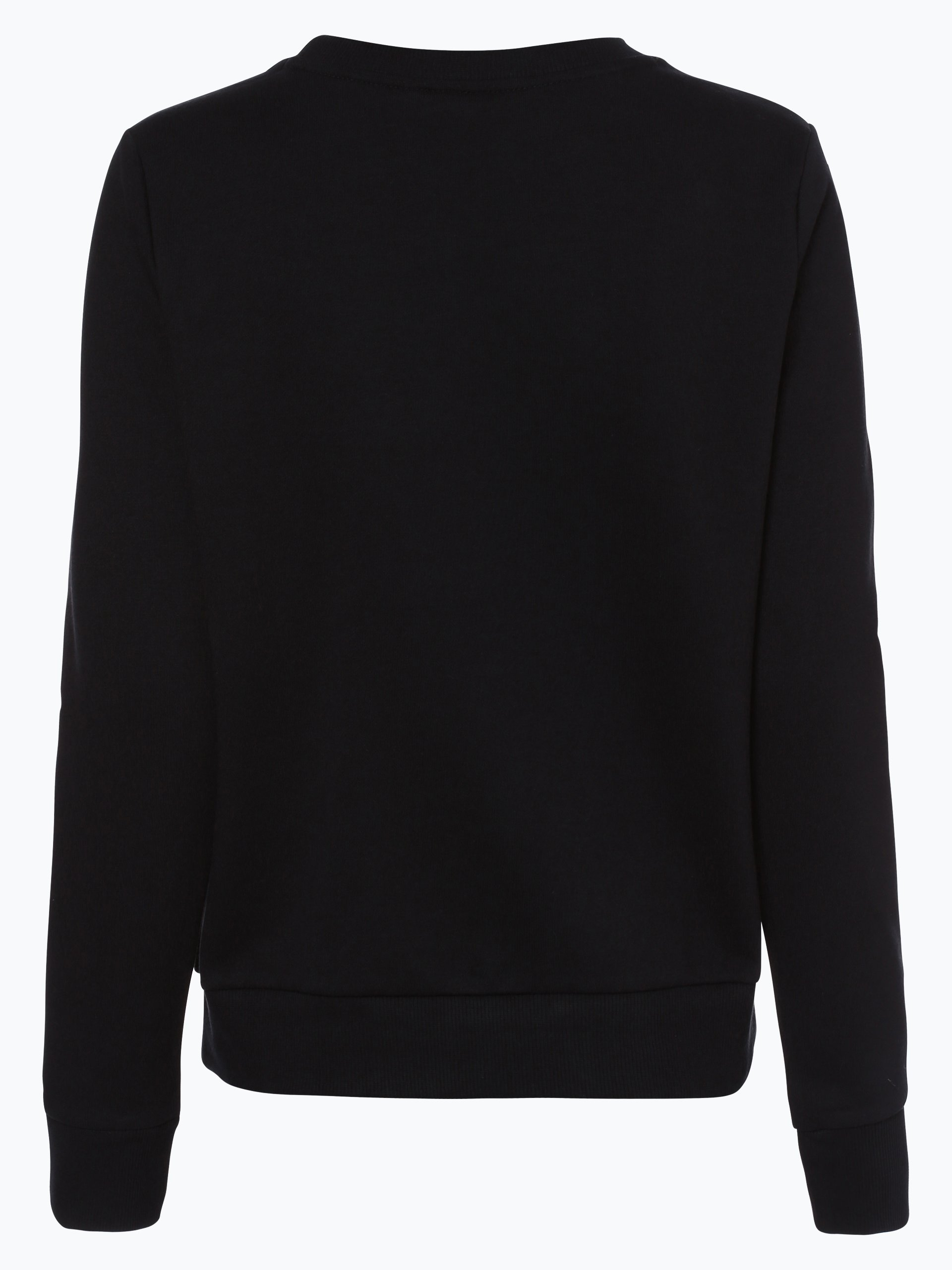 adidas originals damen sweatshirt schwarz uni online. Black Bedroom Furniture Sets. Home Design Ideas