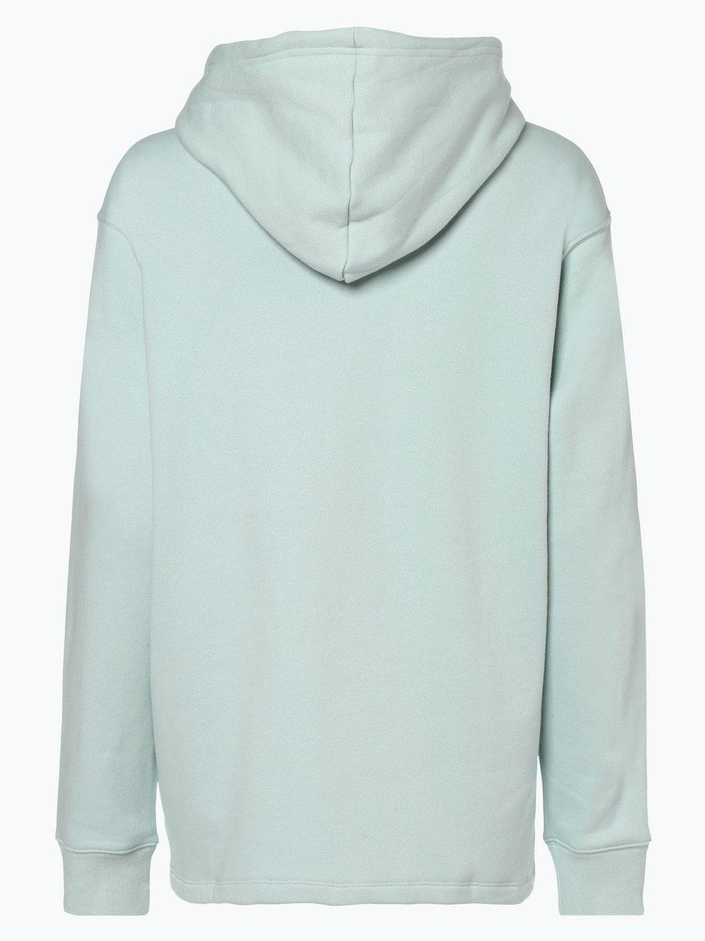 ADIDAS Originals – Bluza rozpinana o kroju slim fit z paskami z logo – Miętowy