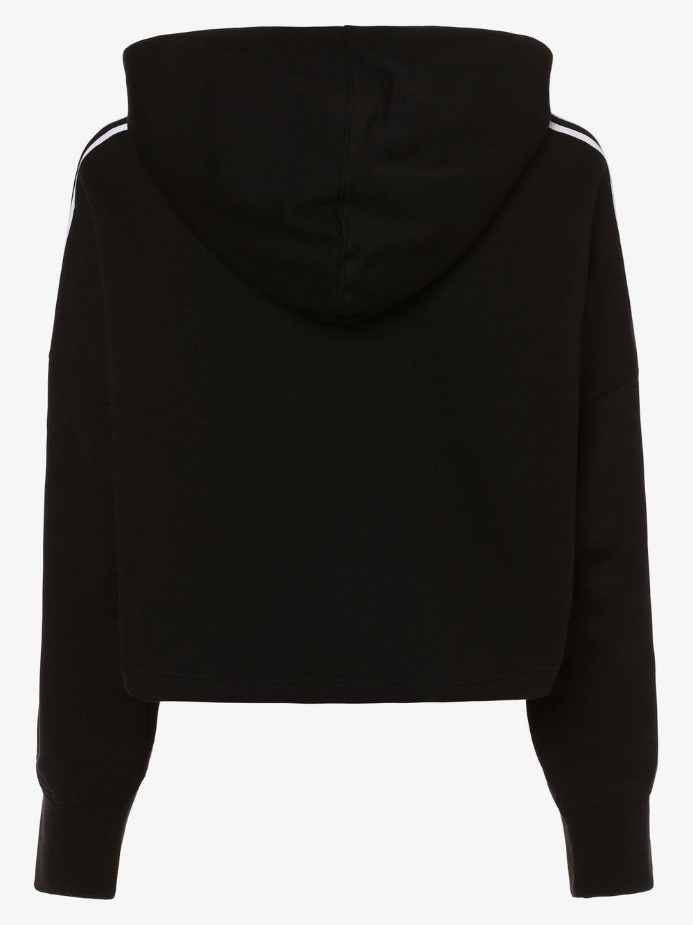ADIDAS Originals Bluza z kapturem o pudełkowym kroju z paskami z logo