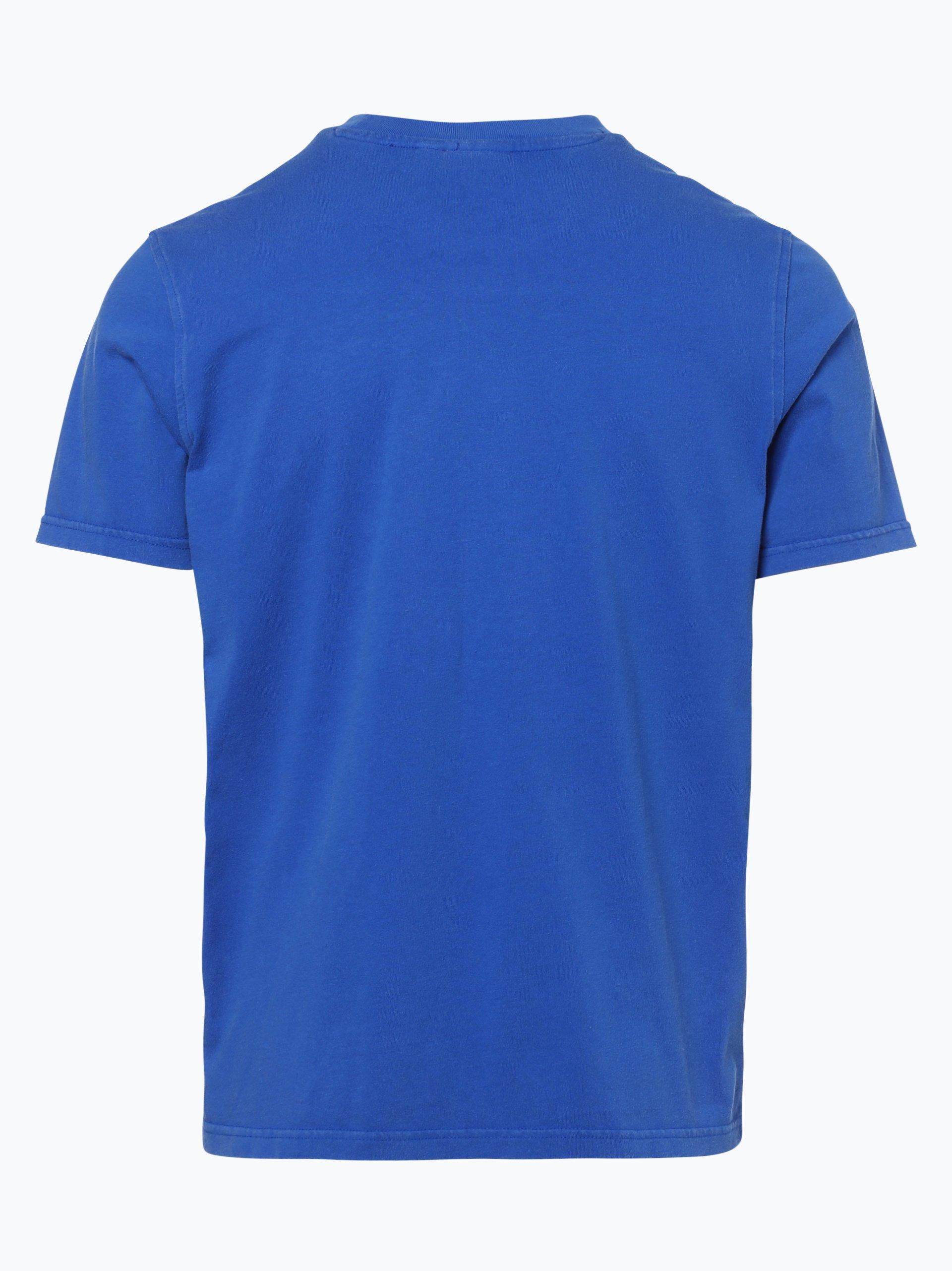 adidas originals herren t shirt blau uni online kaufen. Black Bedroom Furniture Sets. Home Design Ideas