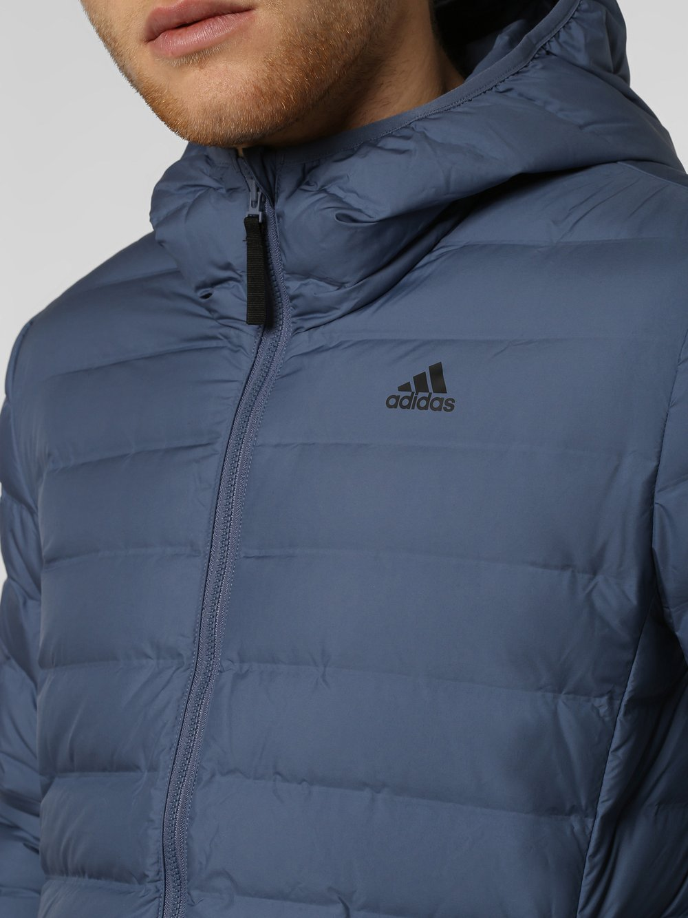 adidas Originals Męska kurtka puchowa – Varlite, niebieski