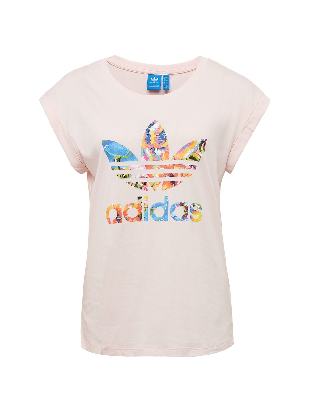 t shirt damski adidas biały | koszulki damskie z nadrukiem