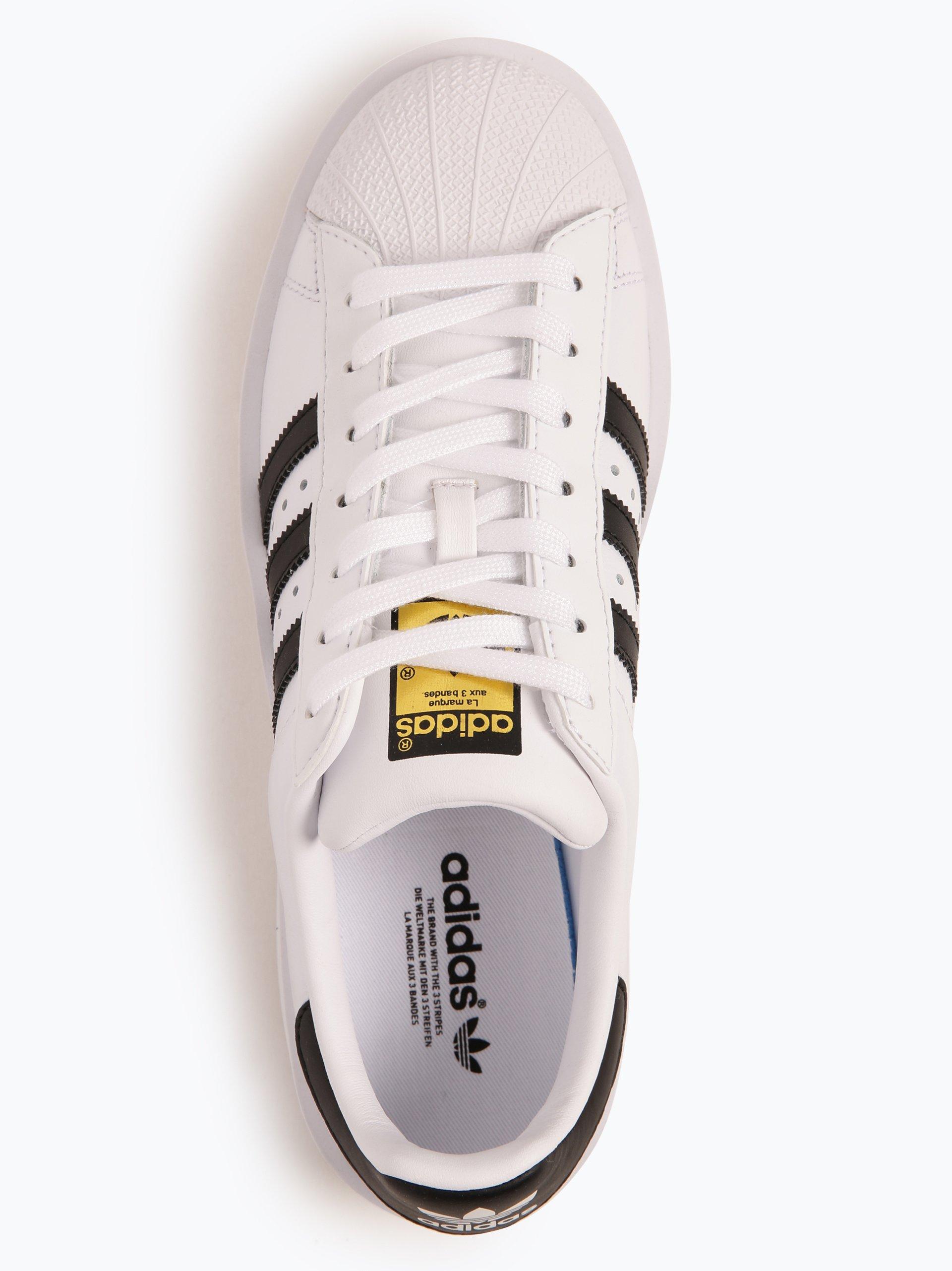 adidas Originals Tenisówki damskie z dodatkiem skóry – Superstar Bold