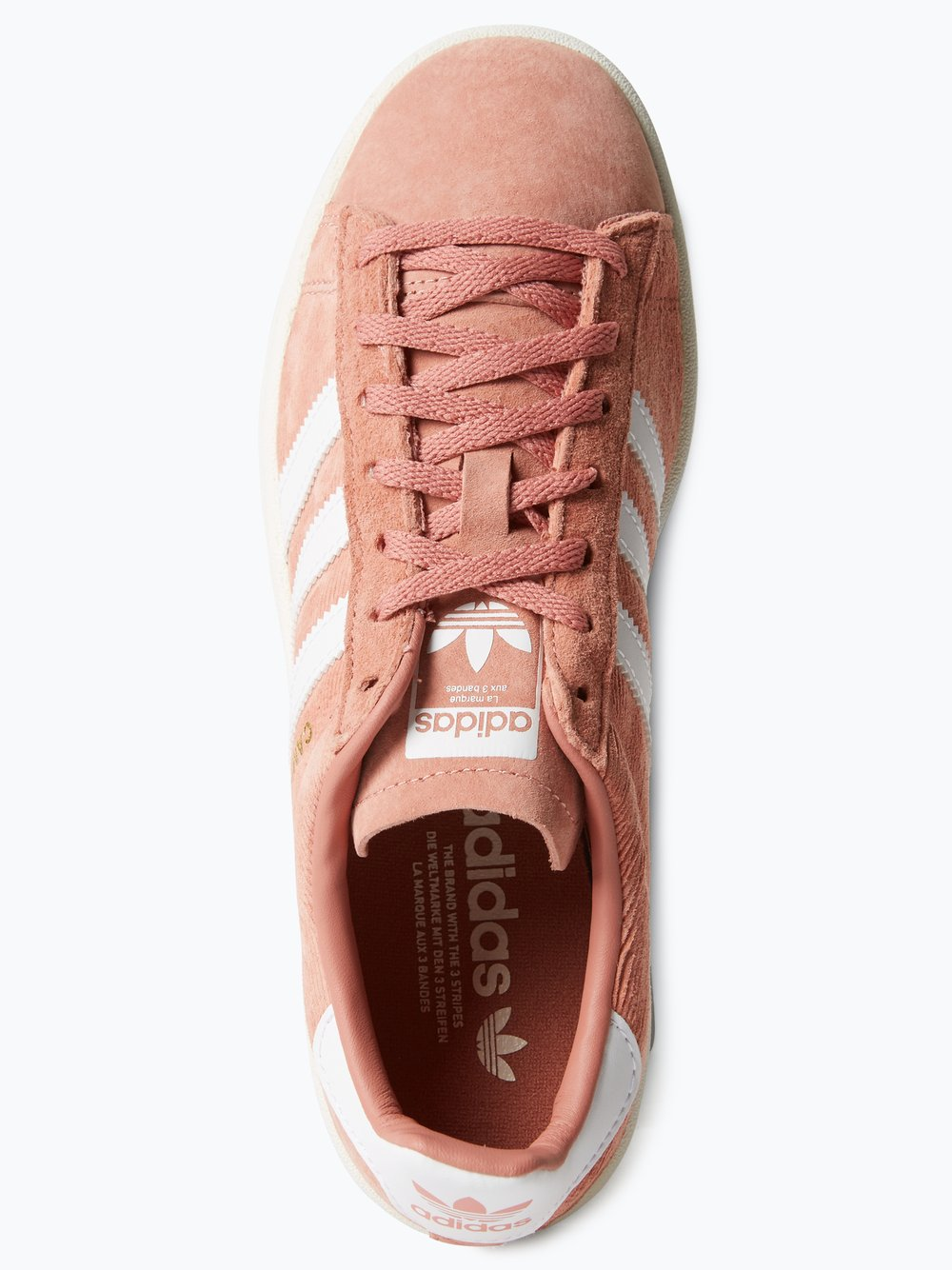 adidas Originals Tenisówki damskie ze skóry welurowej