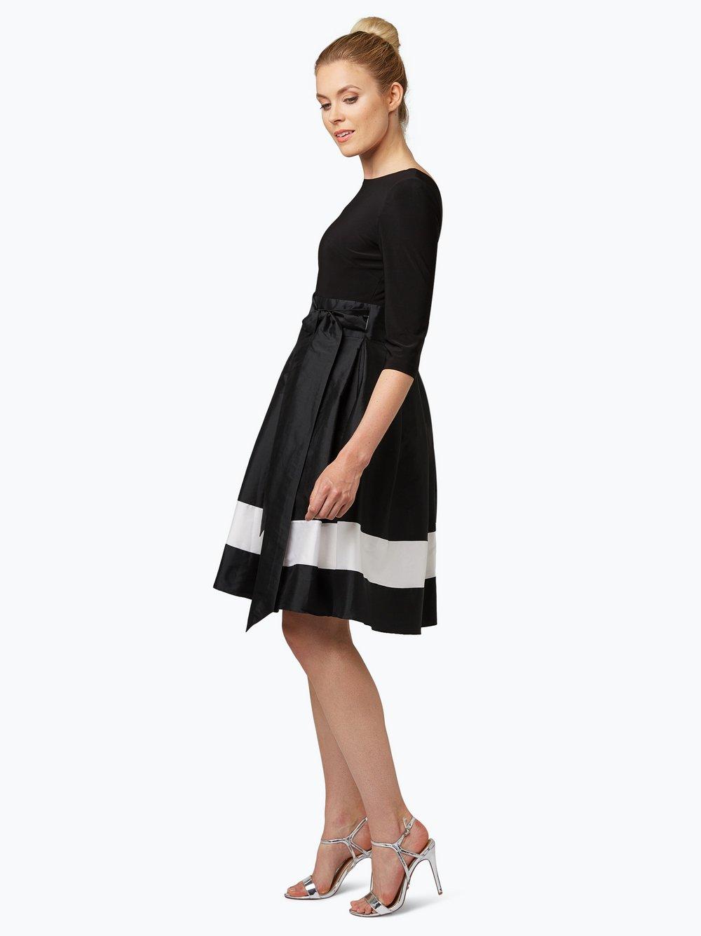 Adrianna Papell Damen Cocktailkleid schwarz weiß uni online kaufen ...