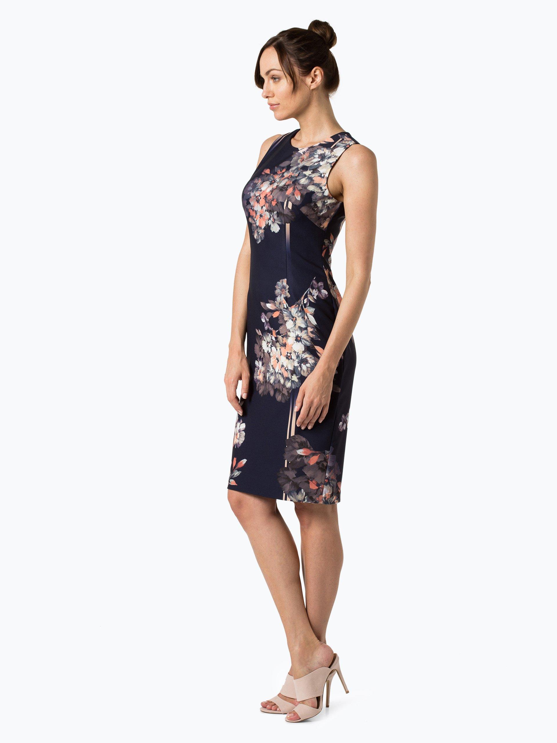 adrianna papell damen kleid lila gemustert online kaufen. Black Bedroom Furniture Sets. Home Design Ideas
