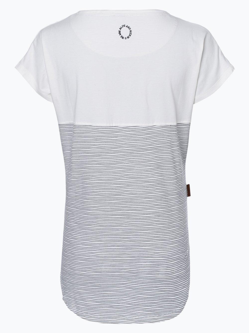 Damen T-Shirt - Summer B blau Alife & Kickin FGWbrWifg3