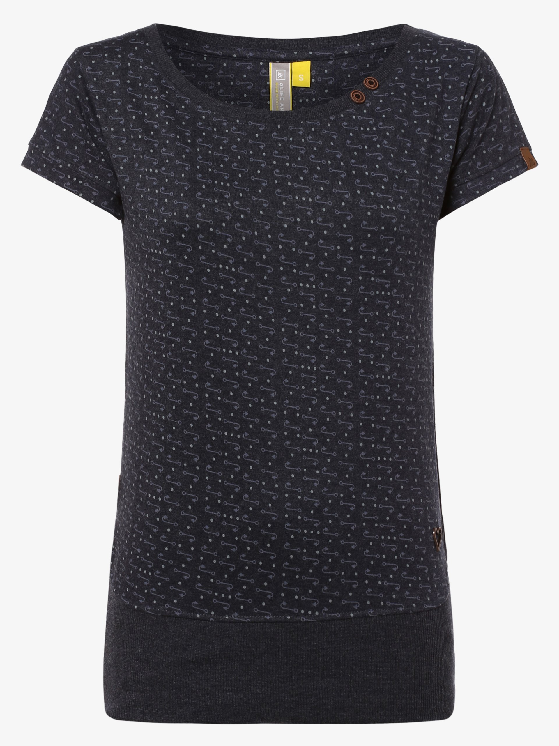 alife and kickin T-shirt damski – Coco